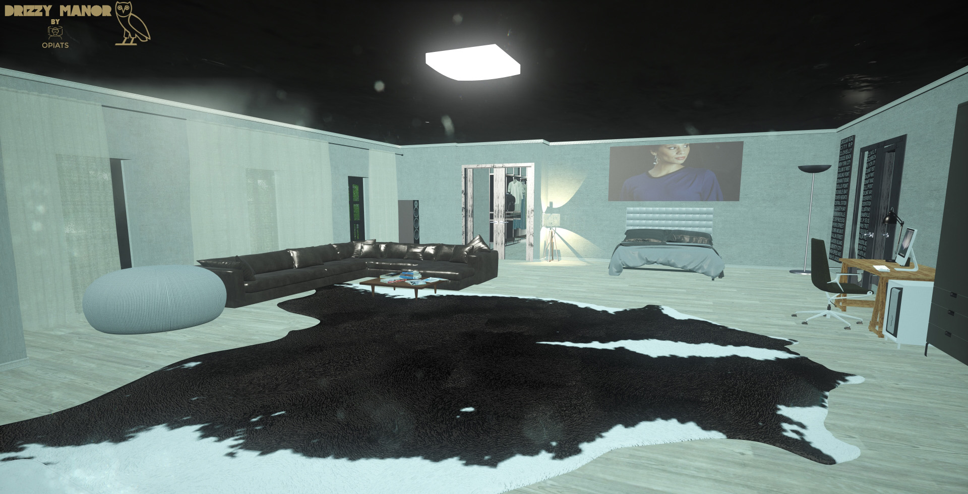 Take A Vr Trip Through Drizzy S Manor With The Help Of