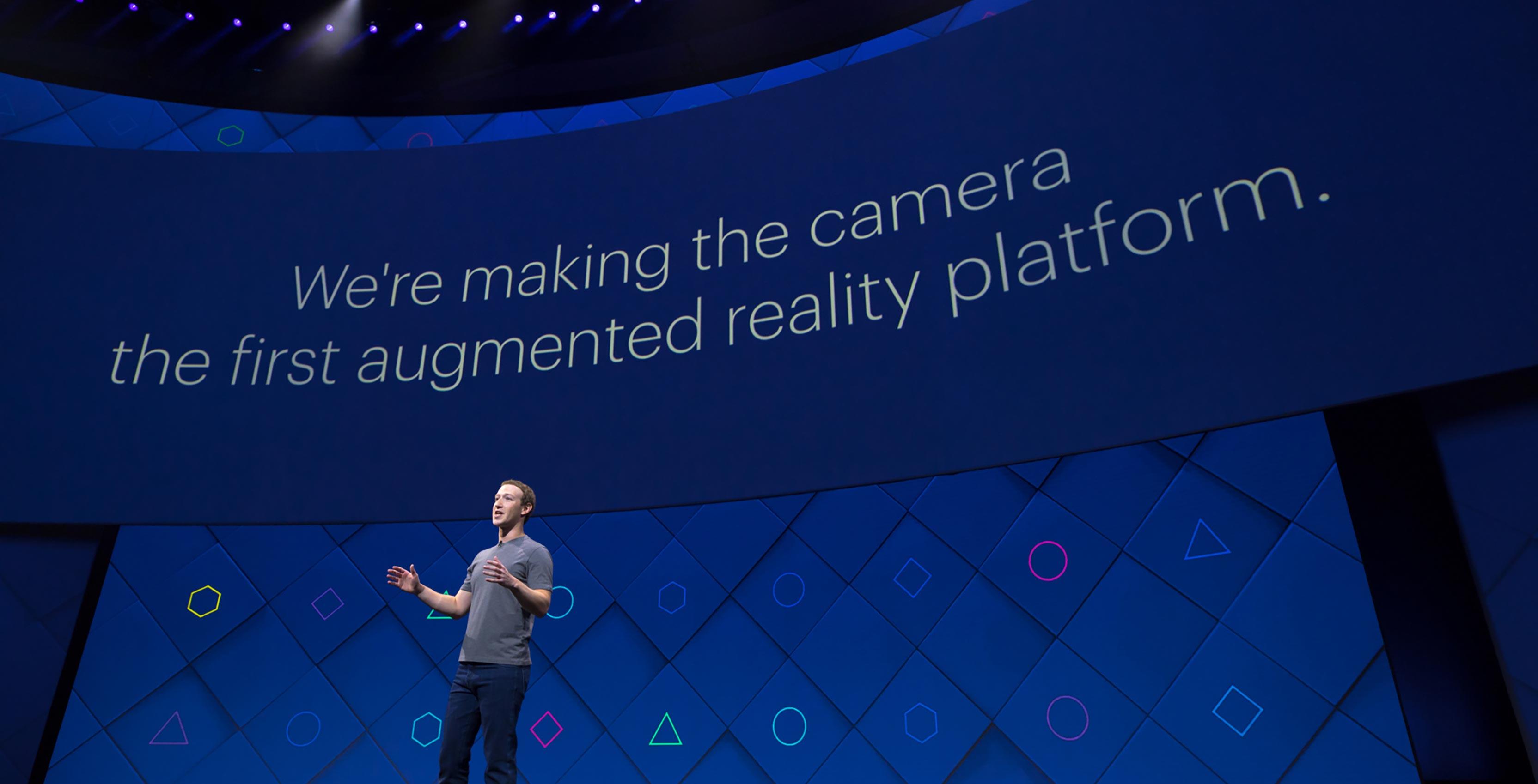 Facebook Mark Zuckerburg F8 Event