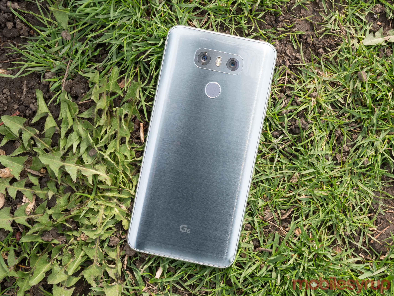 LG G6 rear