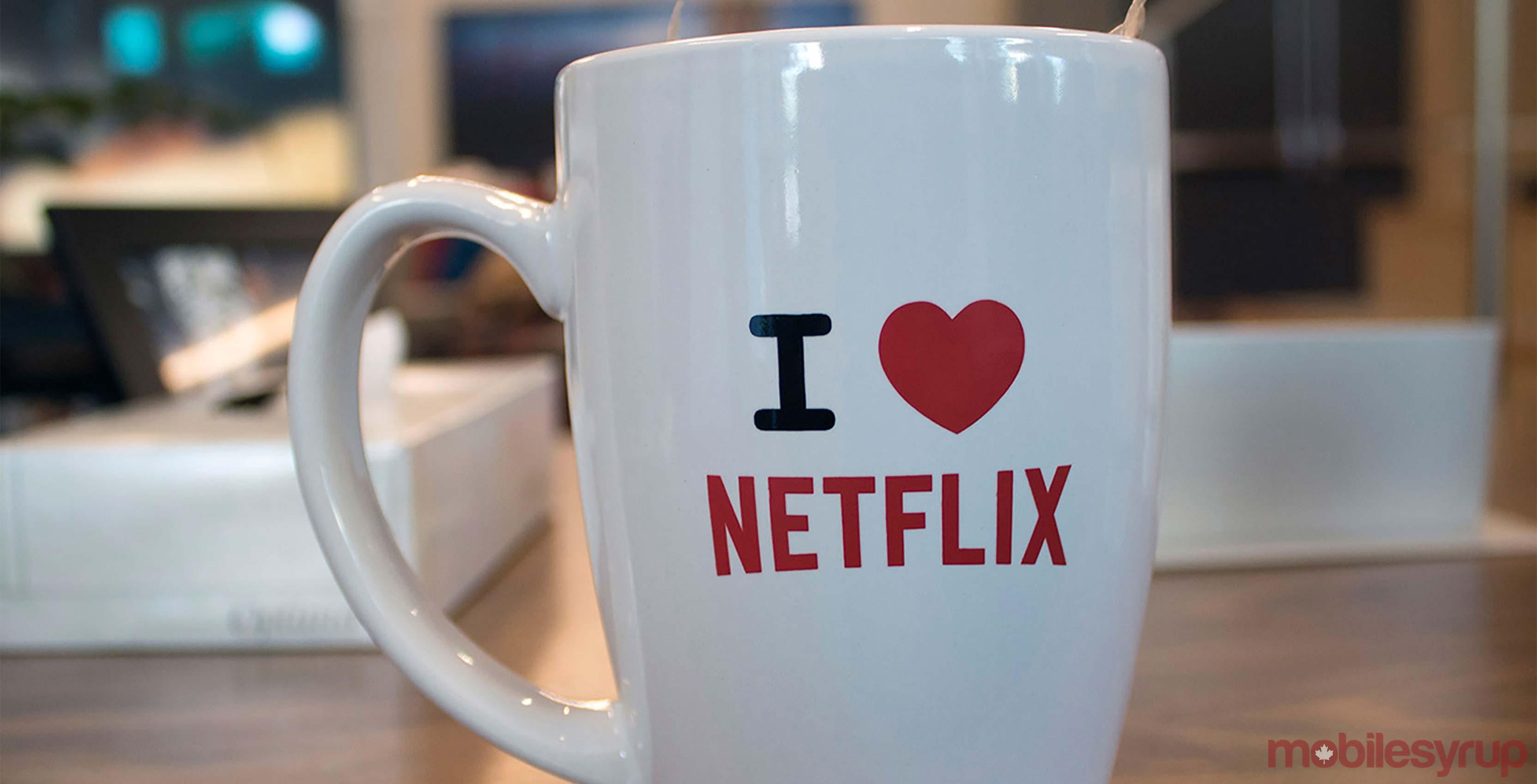 Netflix mug