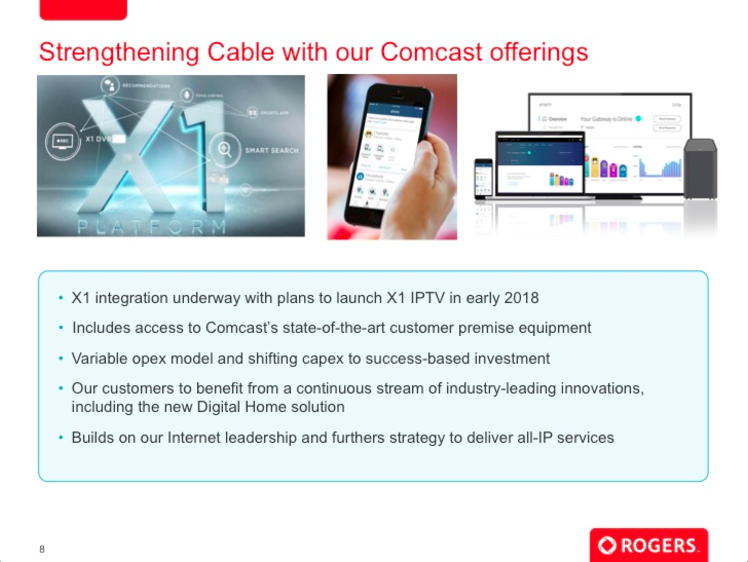 Rogers says it will launch its Comcast X1-based IPTV offering in the