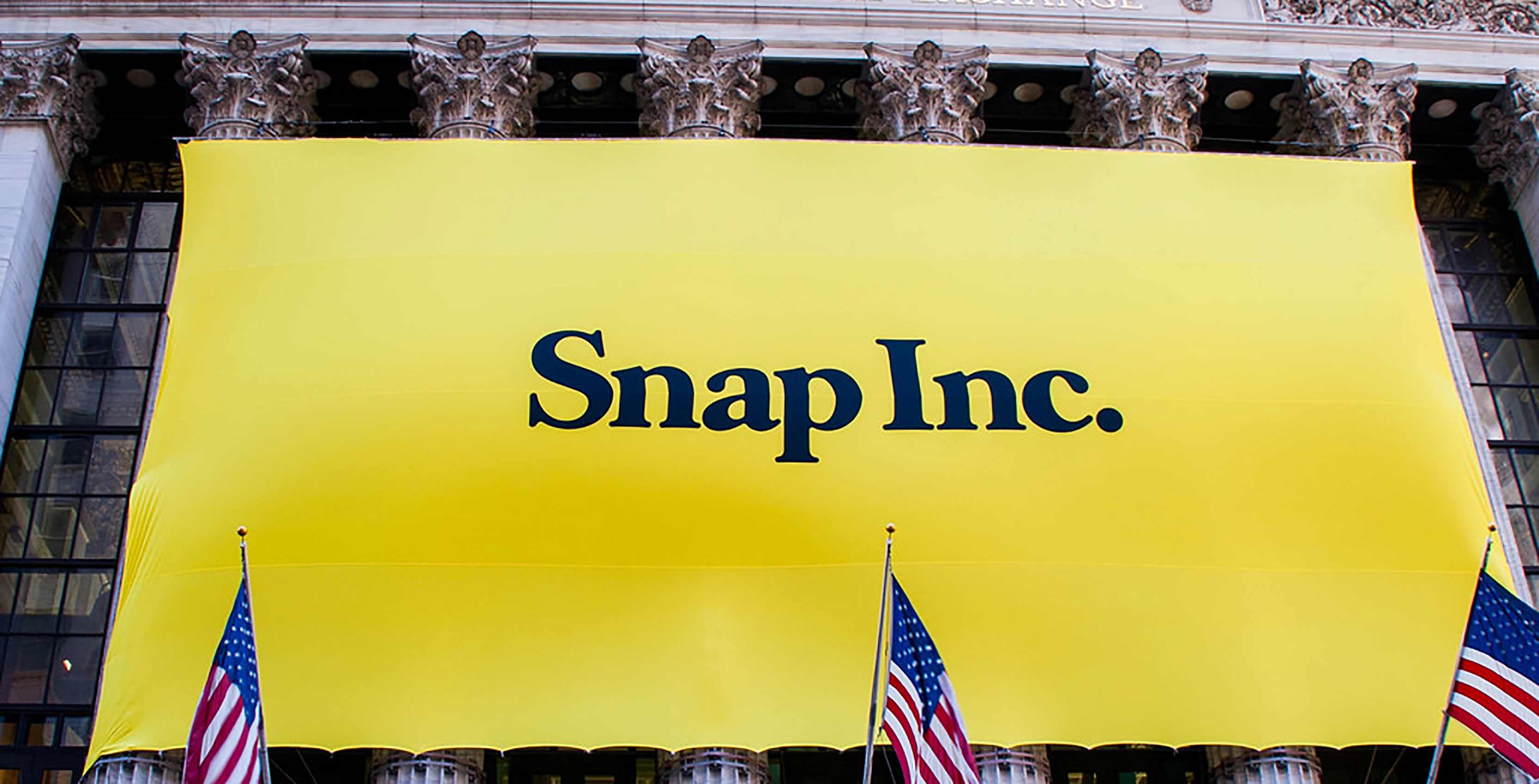 Snap Inc. banner