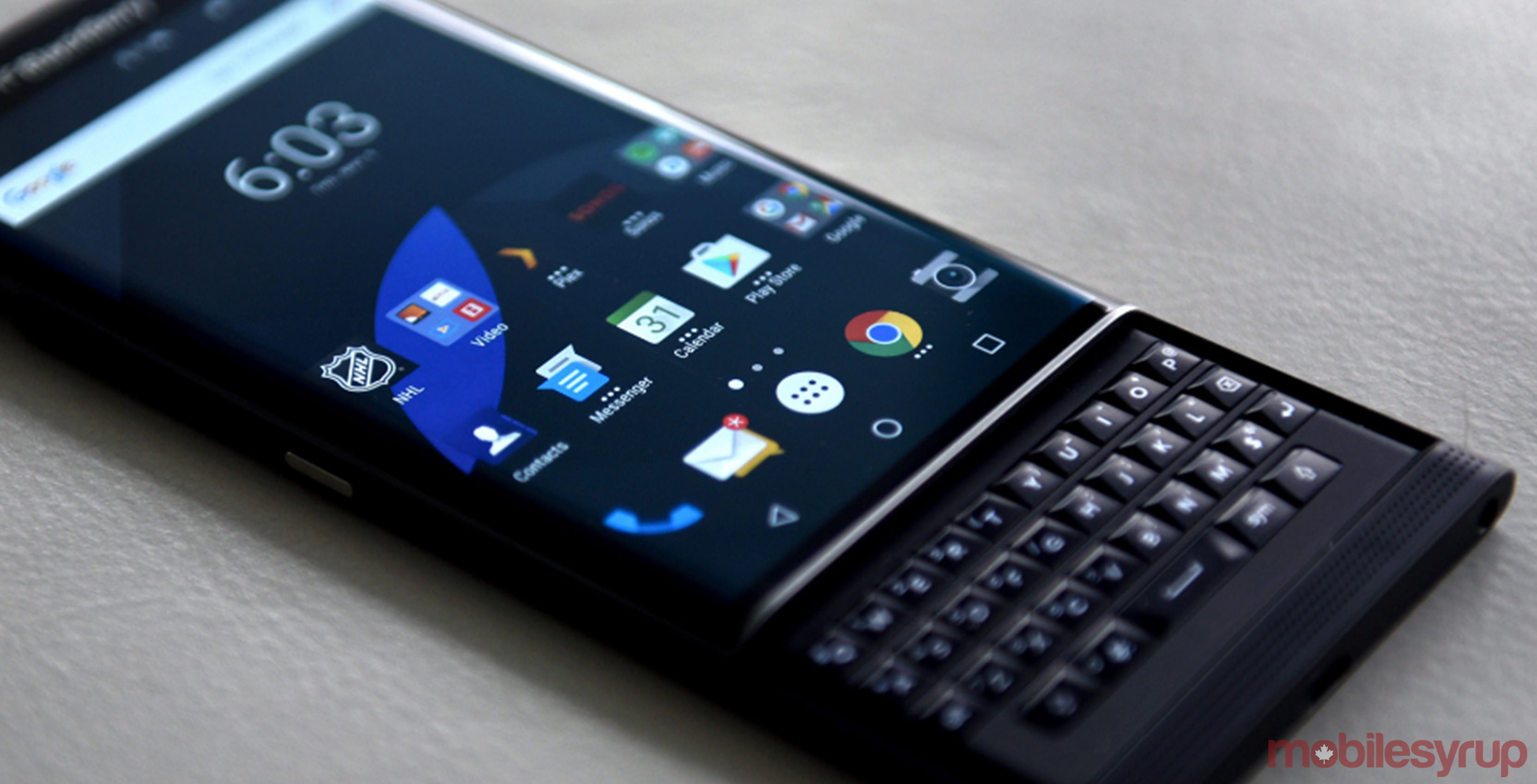 The BlackBerry Priv is one of the most secure Android