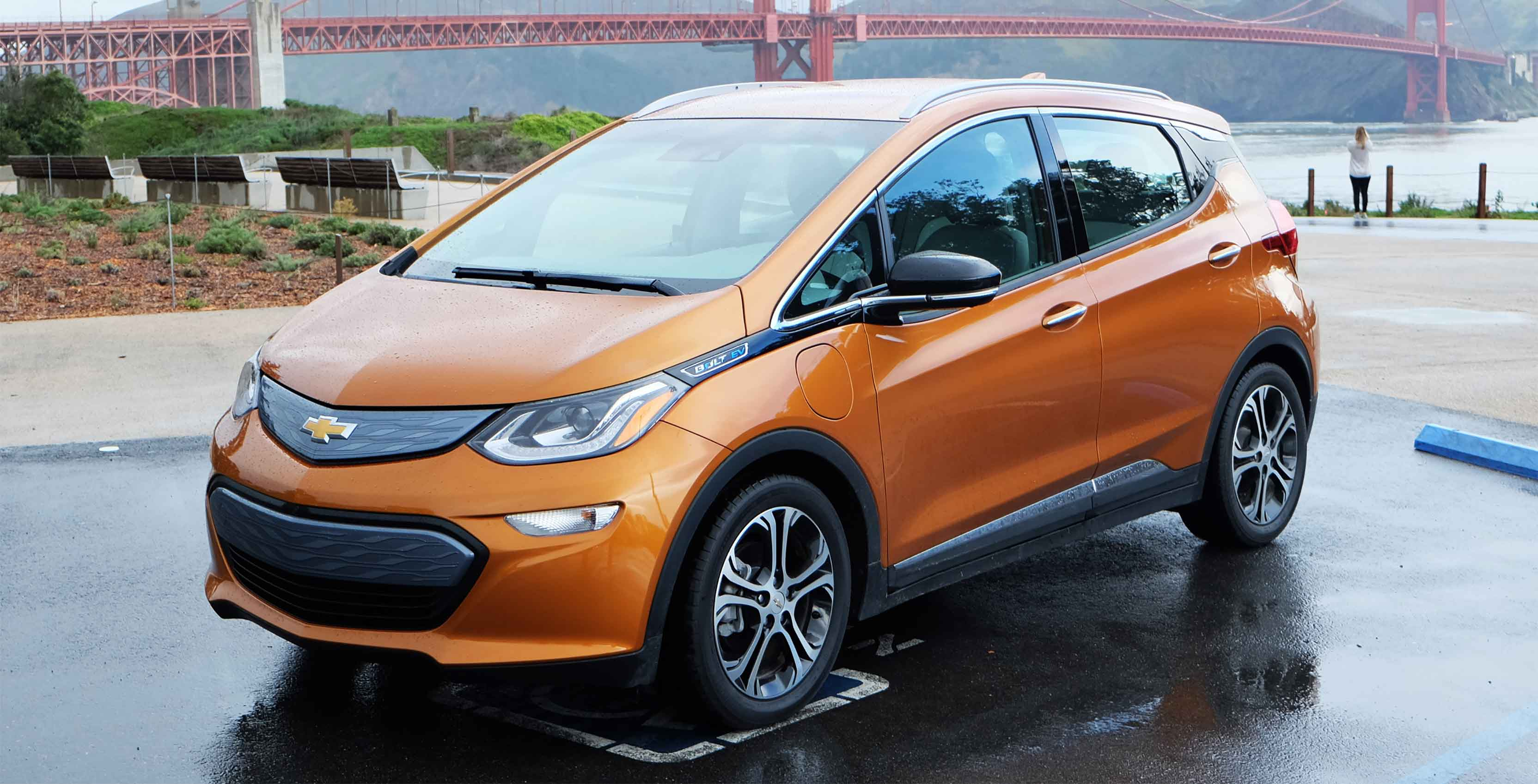 Chevy Bolt used as base for the AutoDrive Challenge