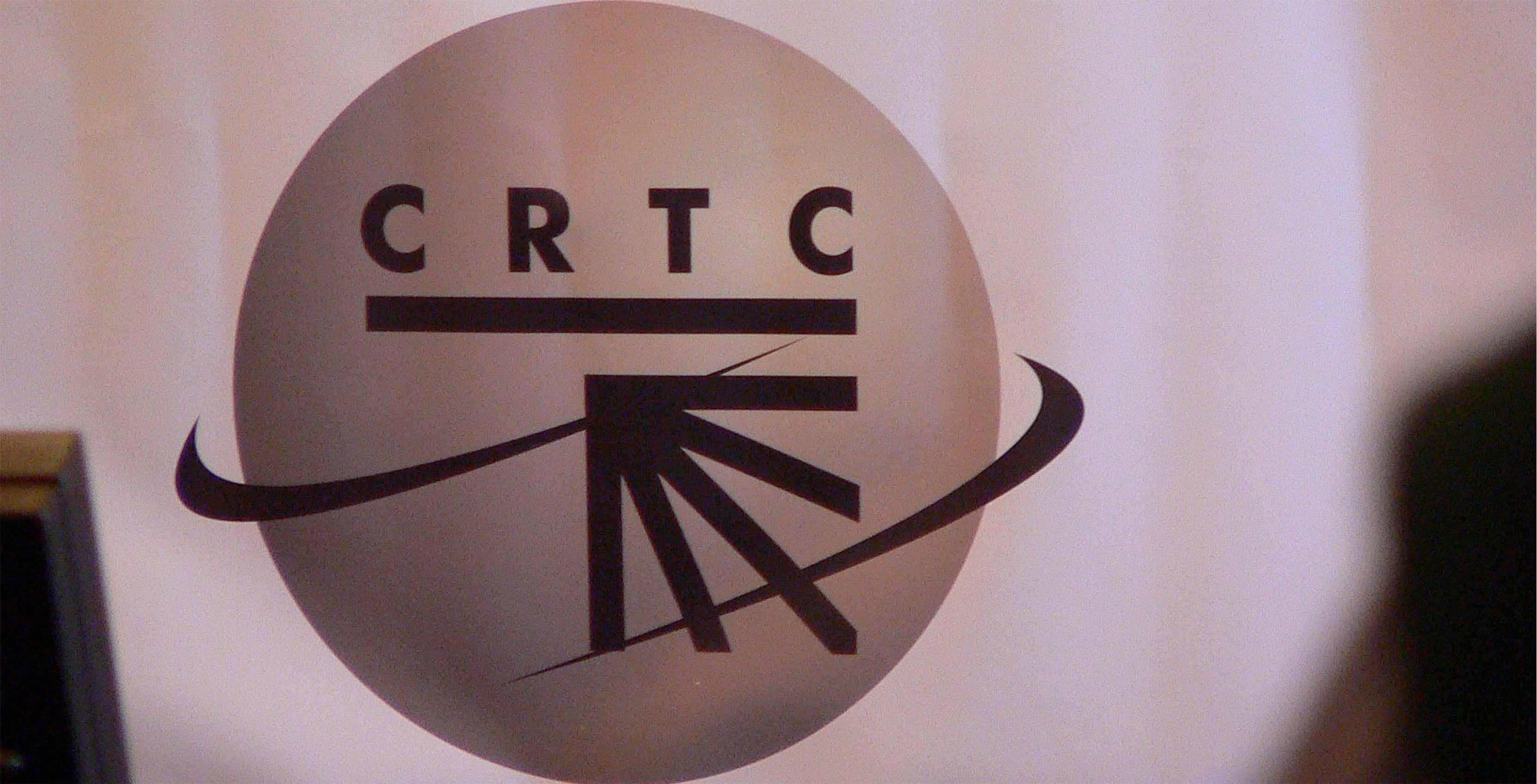 CRTC sign