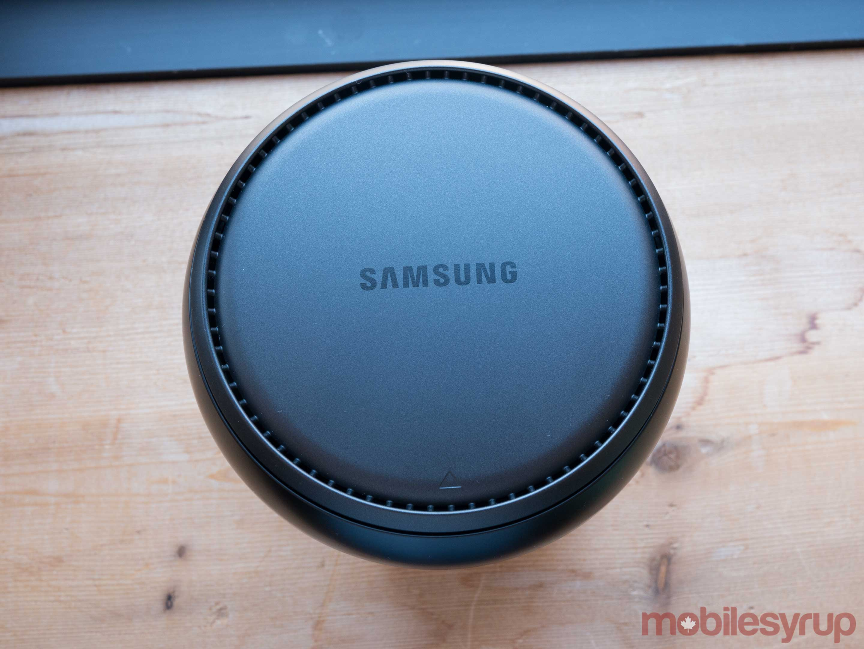 Galaxy S8 DeX top view