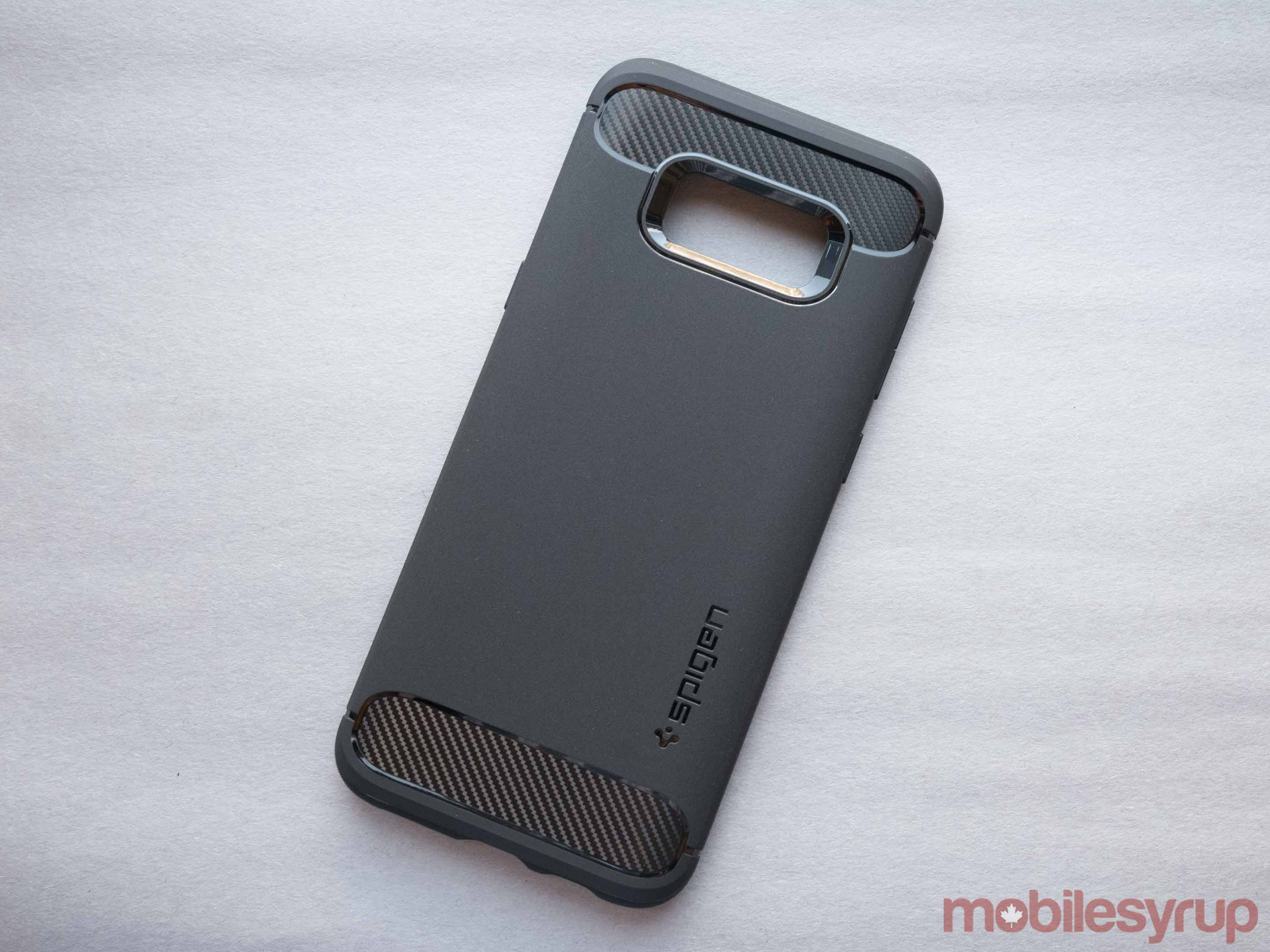 Spigen Galaxy S8 Rugged Armor Black