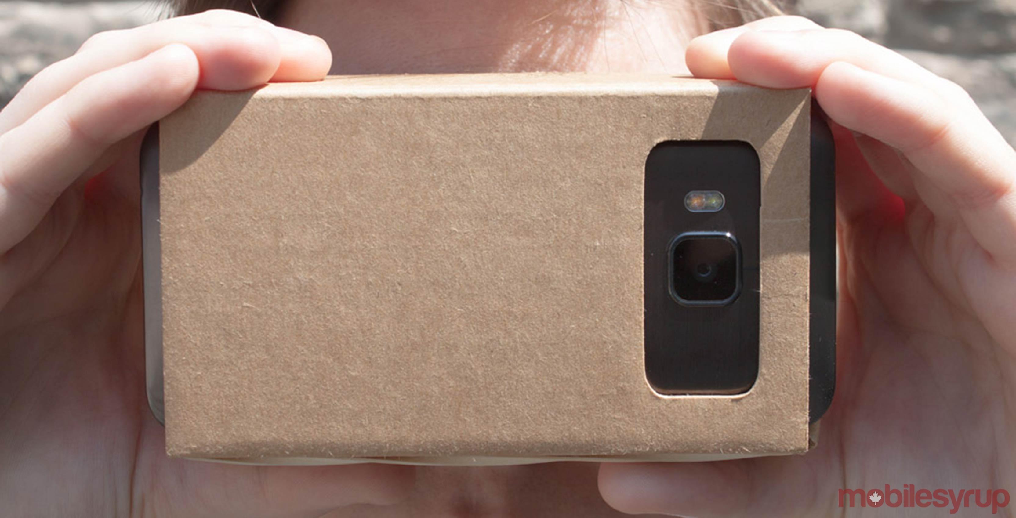 Google Cardboard with Google WebVR