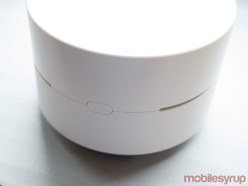 Google wifi side