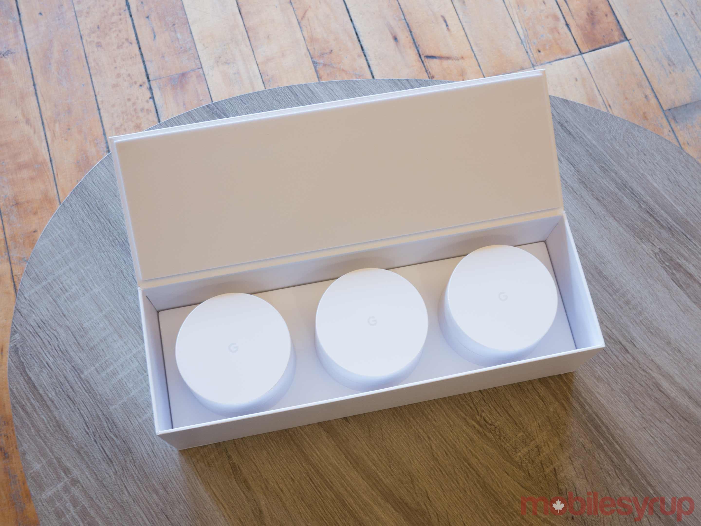 Google Wifi in box
