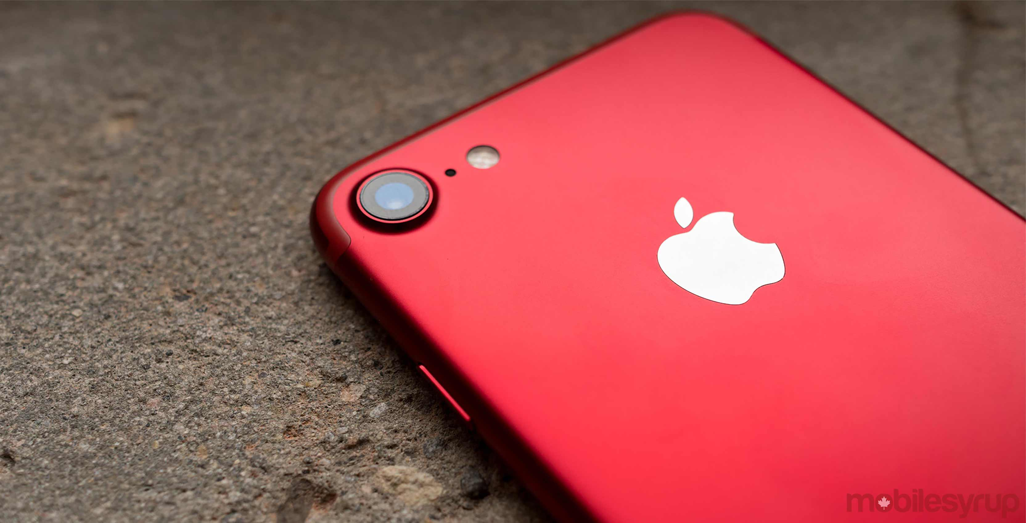 product red iPhone iOS Update