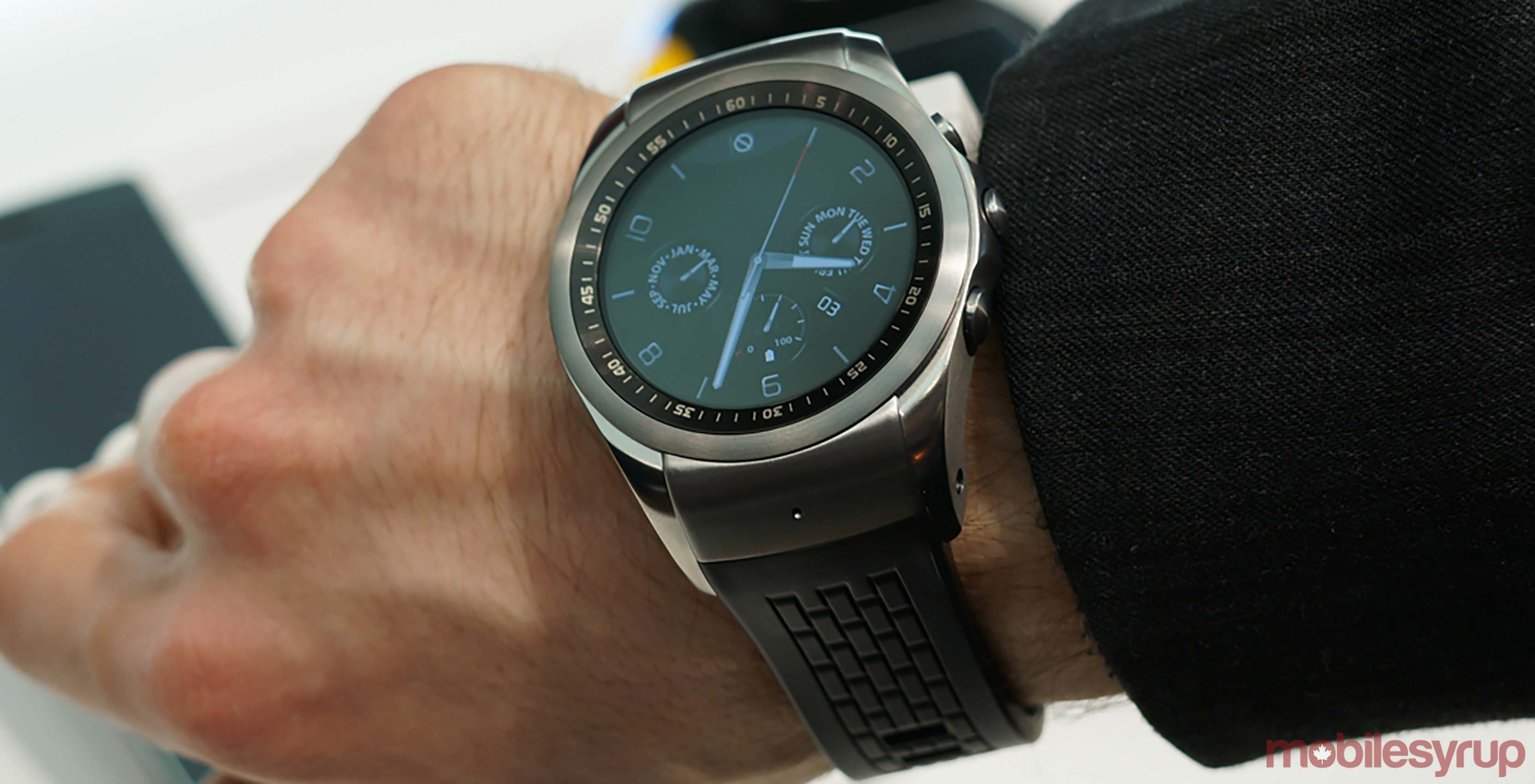 lg watch urbane - Android Wear 2.0 update
