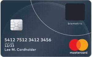 Mastercard biometric card