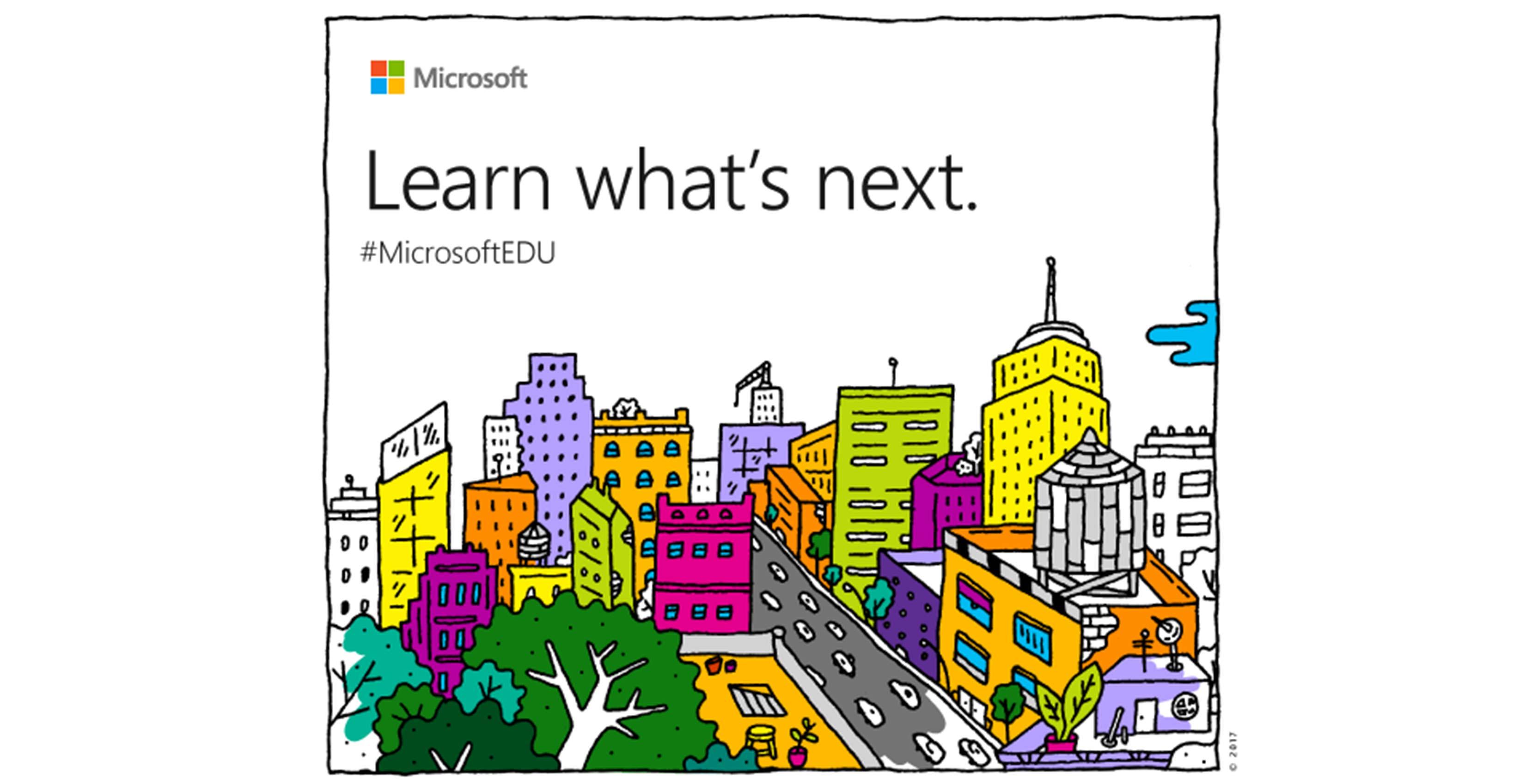 Microsoft Education Event invite