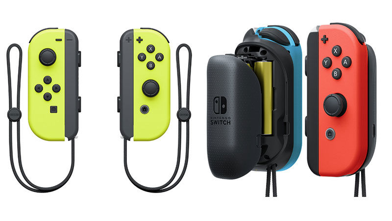 Joycon yellow