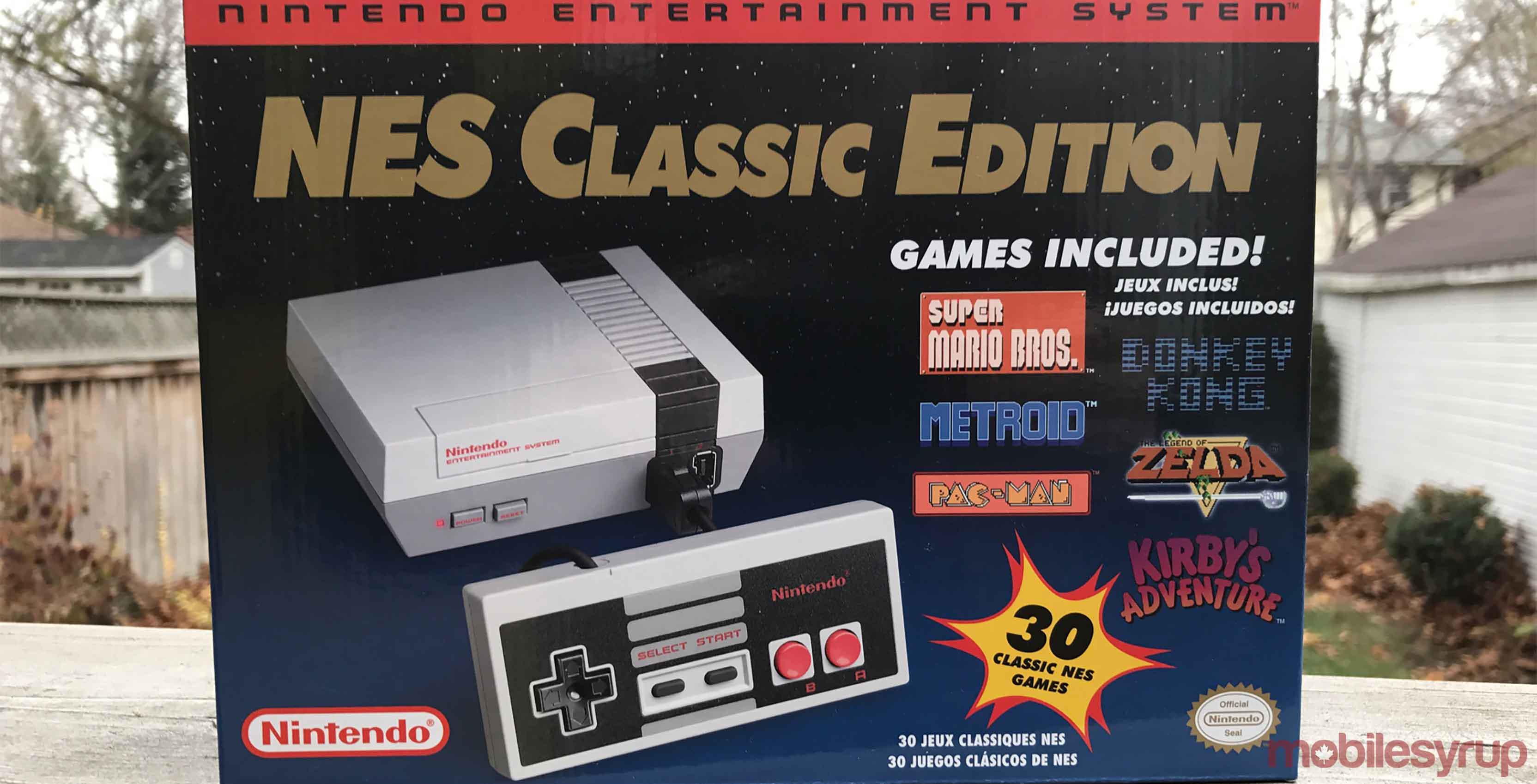Nintendo S Nes Classic Is Back In Stock On Amazon Canada