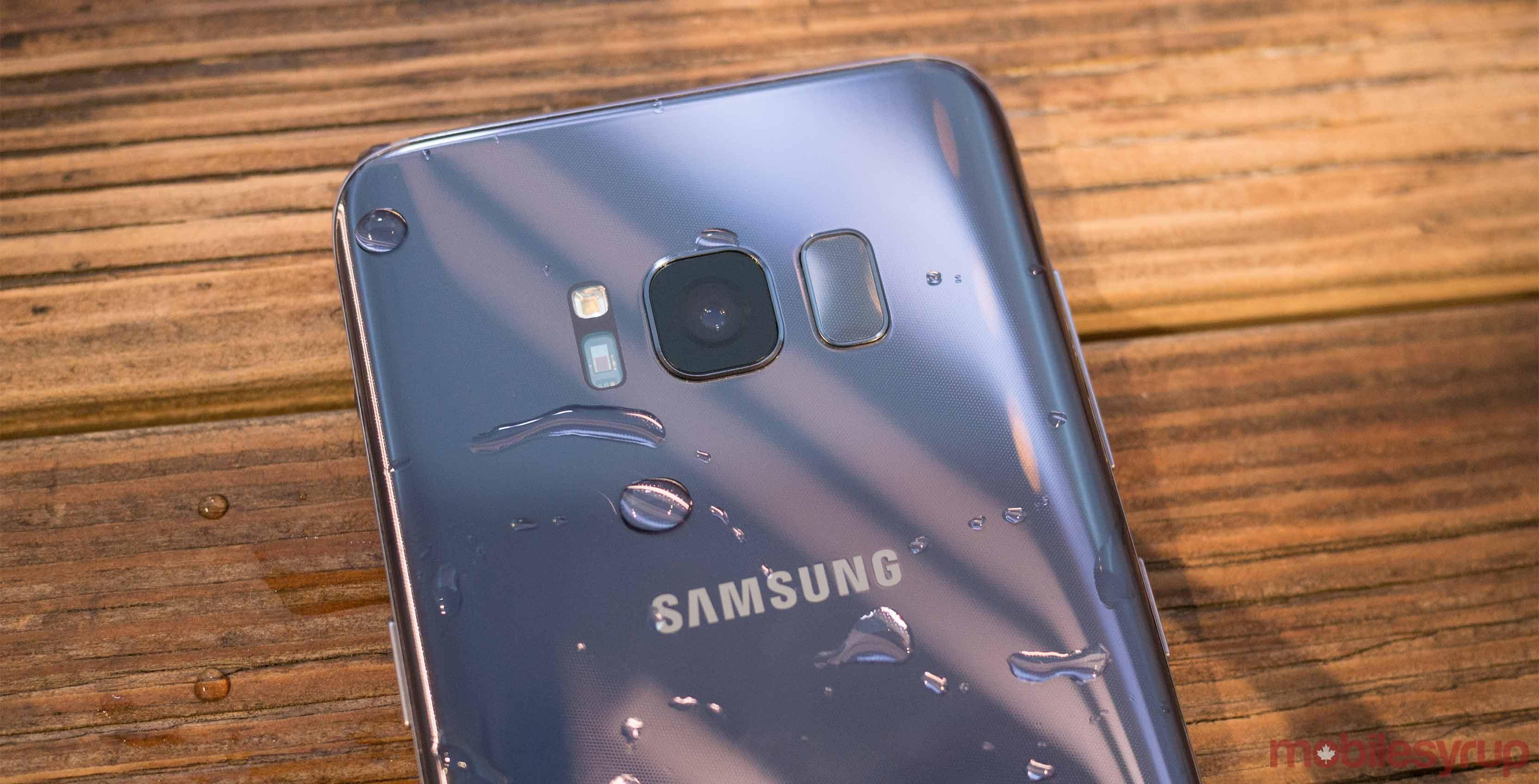 Samsung Galaxy S8+ production