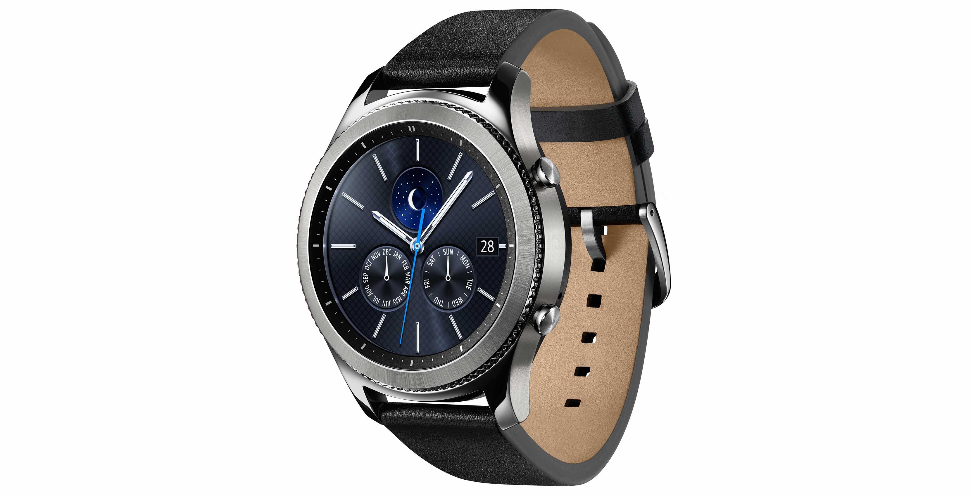 Samsung Gear S3 smartwatch running samsung tizen security vulnerabilities
