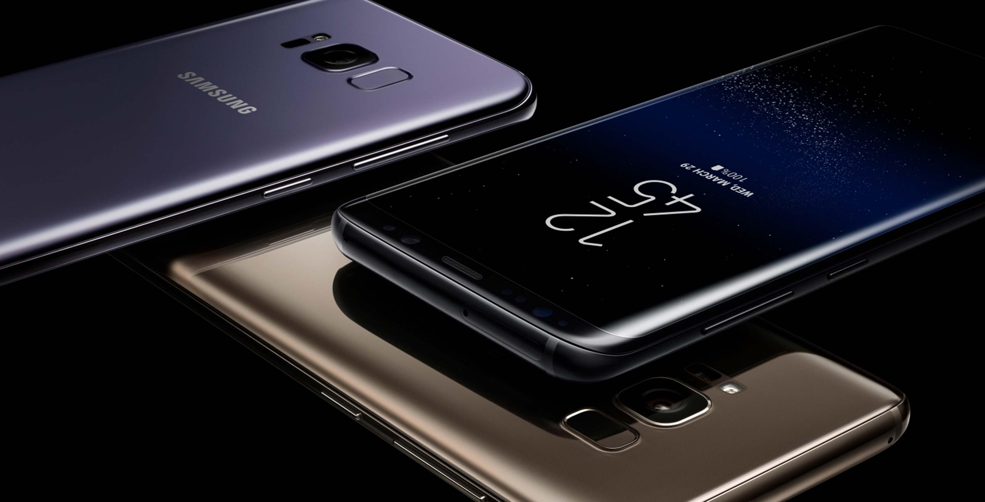 Samsung Galaxy S8 Design