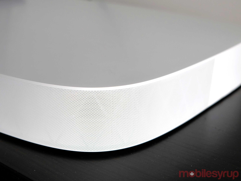 Corner of Sonos Playbase