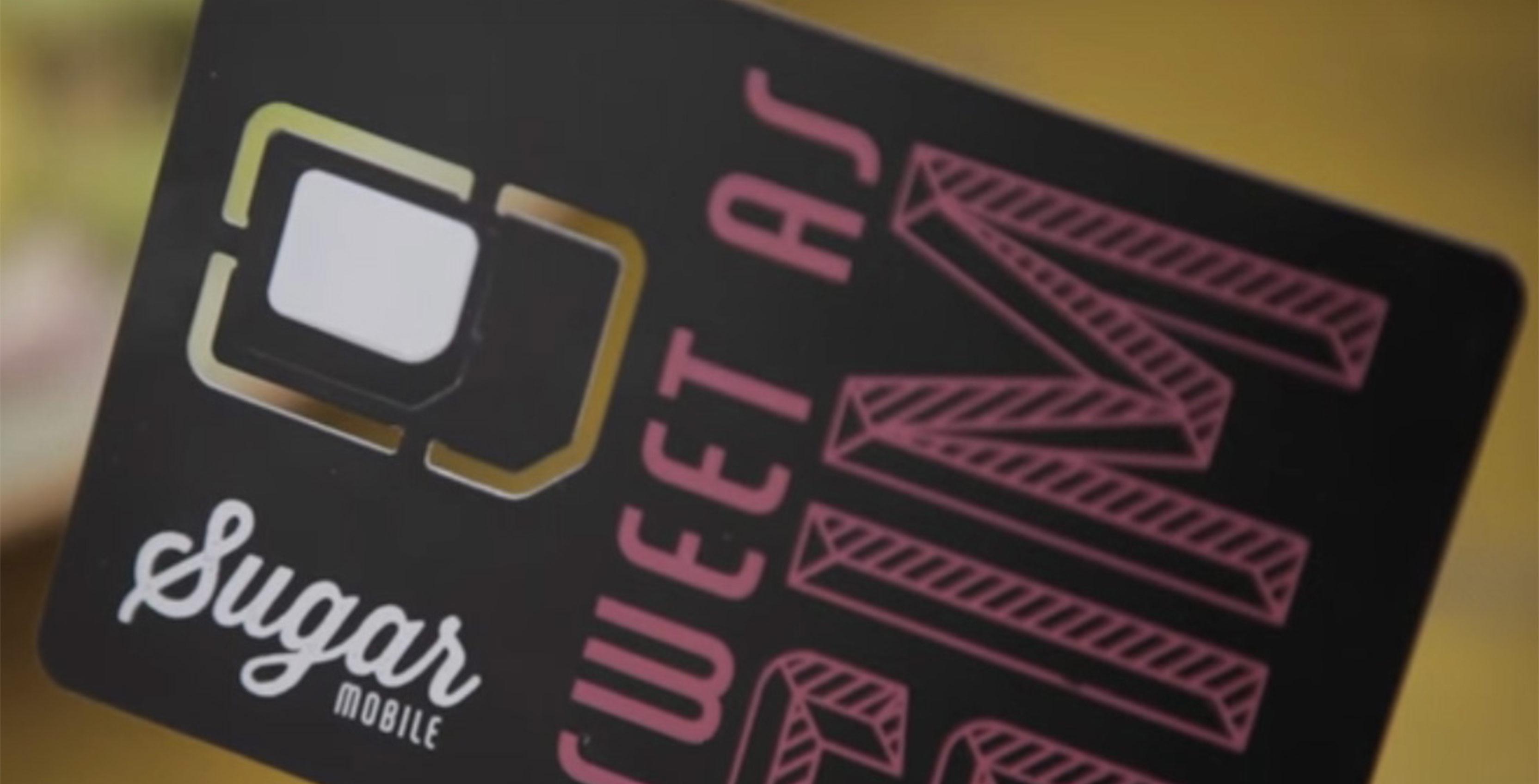 Sugar Mobile SIM card