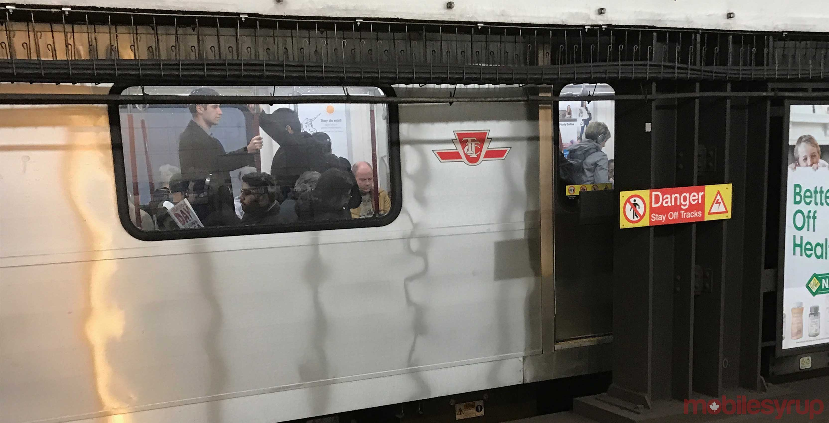 TTC subway car
