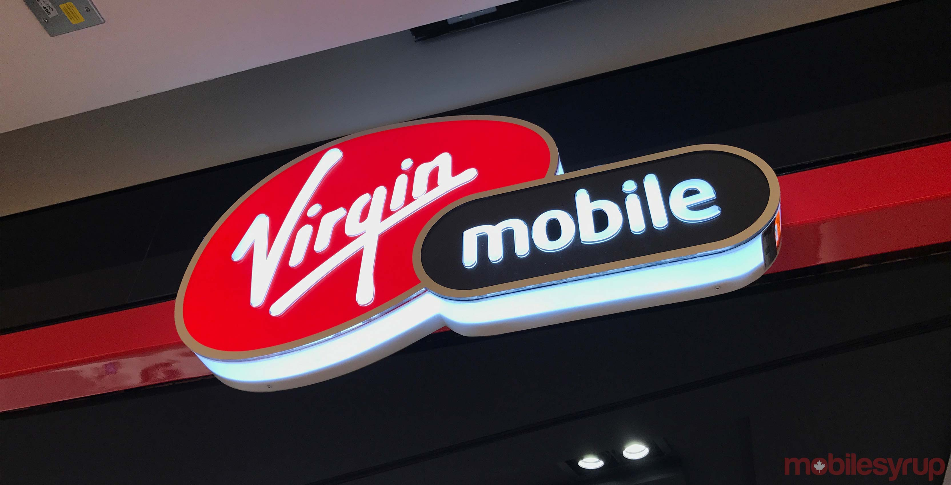 Virgin Mobile kiosk