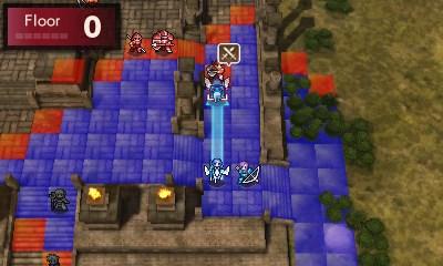 Fire Emblem Echoes: Shadows of Valentia map