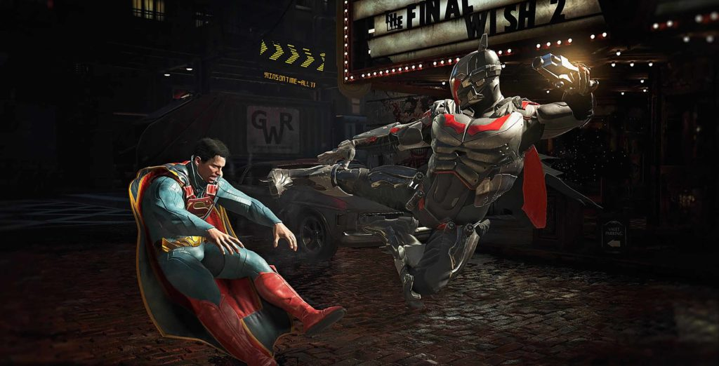 Injustice 2 - The greatest gladiator matches in the history