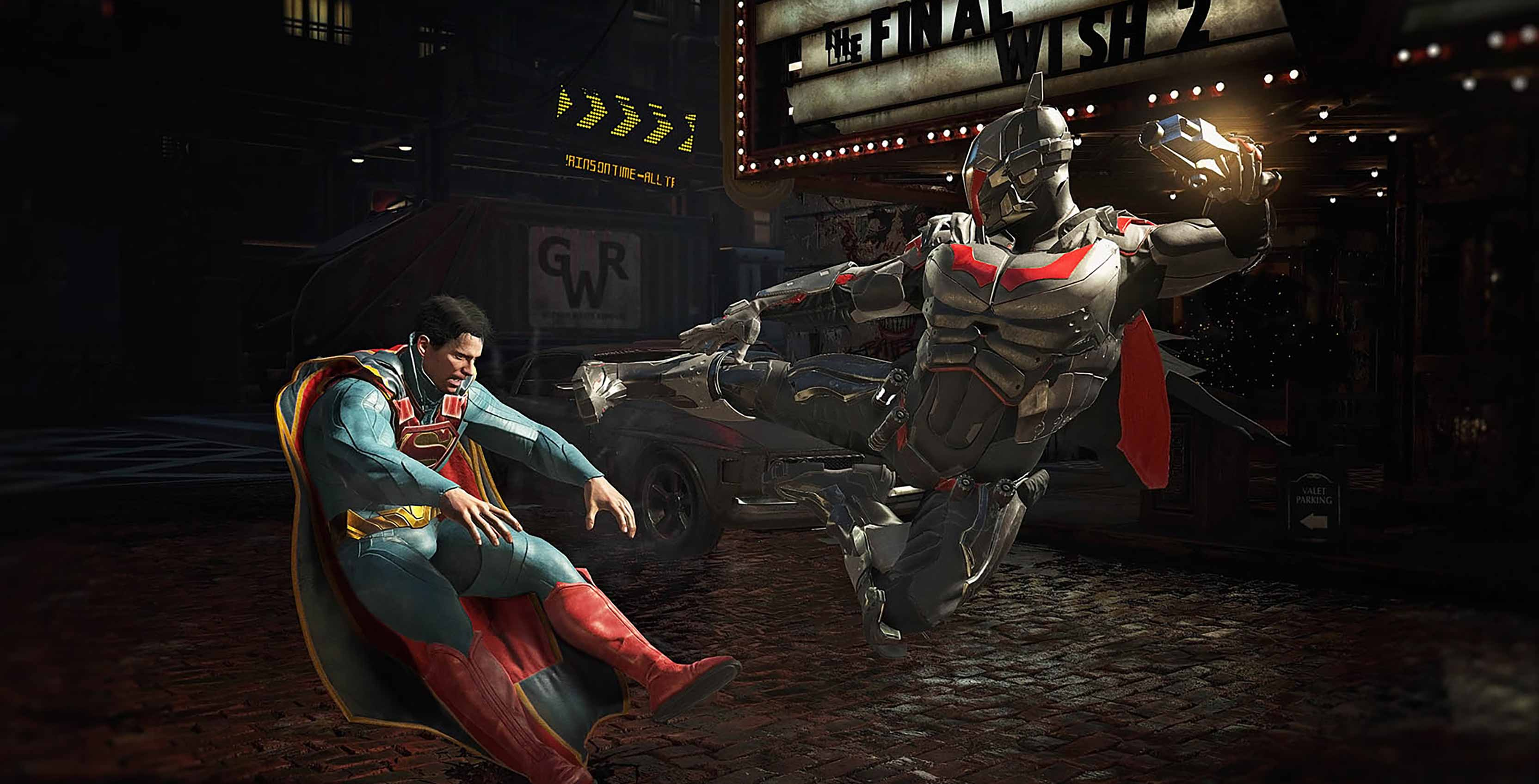 Injustice 2 Batman v Superman