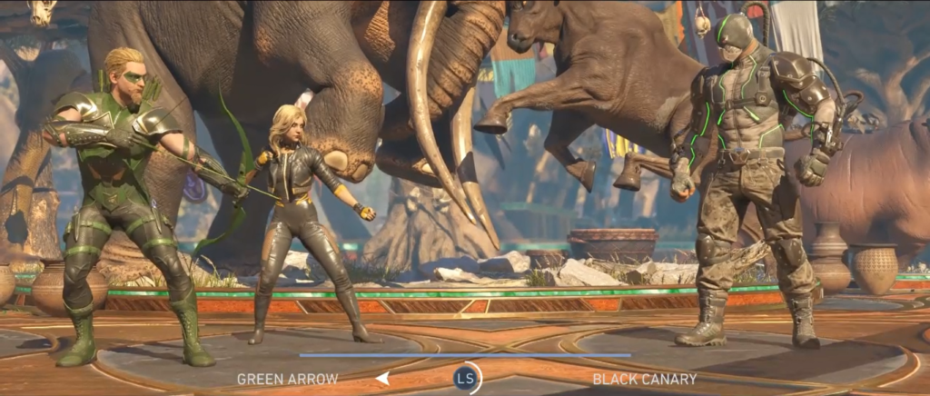 Injustice 2 Green Arrow and Black Canary