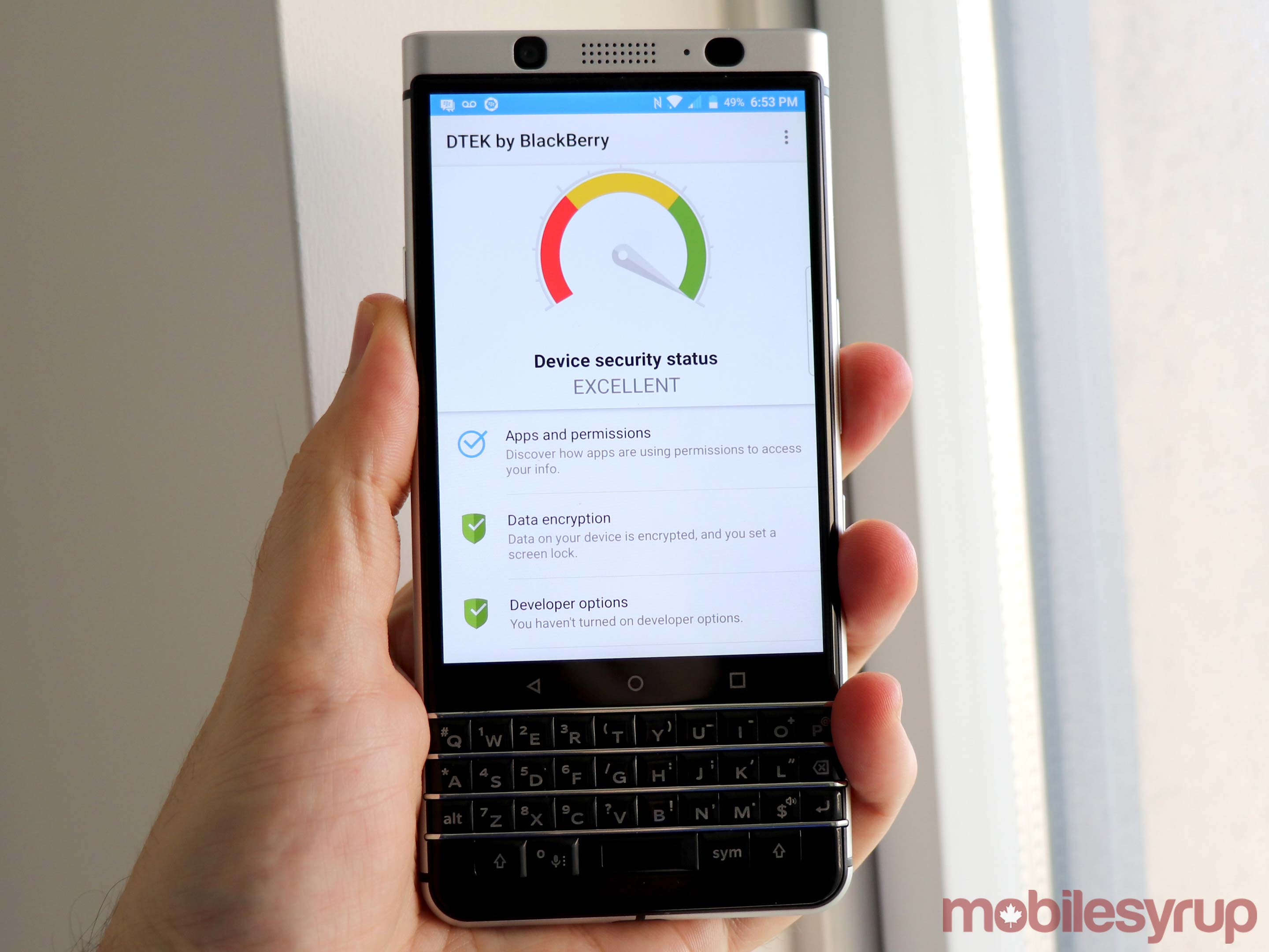 BlackBerry KEYone review: Classically unusual