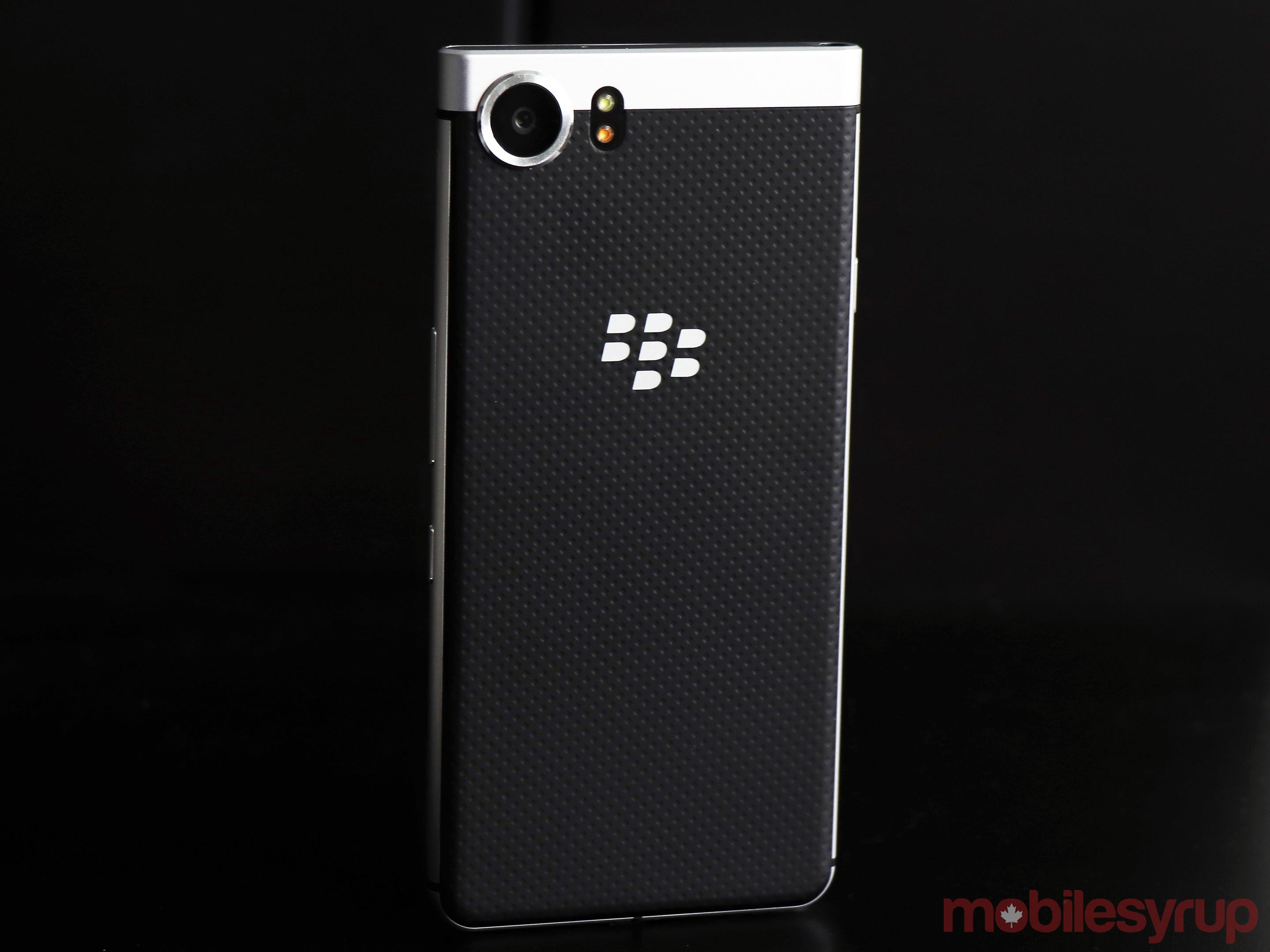 Blackberry keyone back