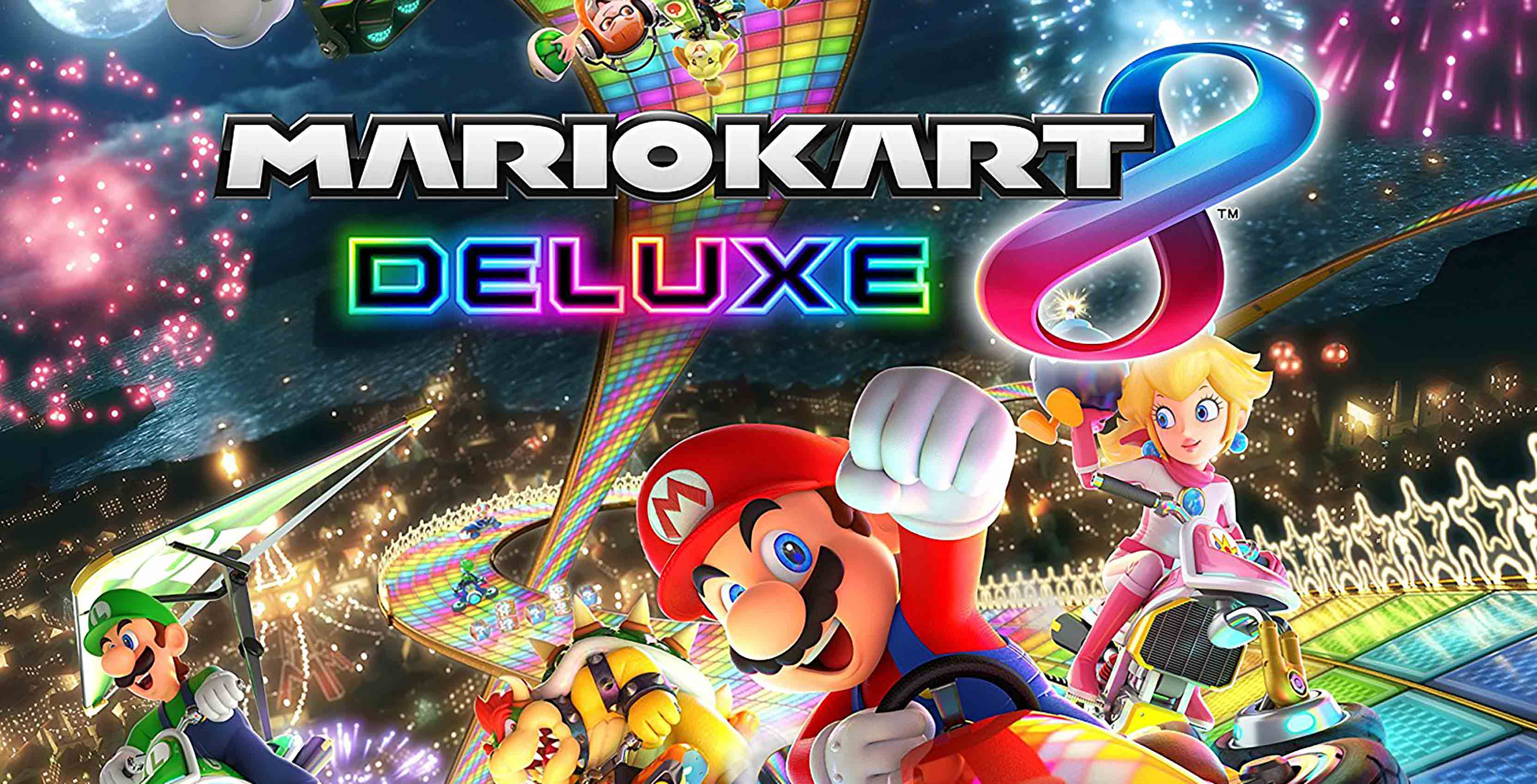 mario kart 8 deluxe on nintendo switch is fastest selling in franchise history. Black Bedroom Furniture Sets. Home Design Ideas