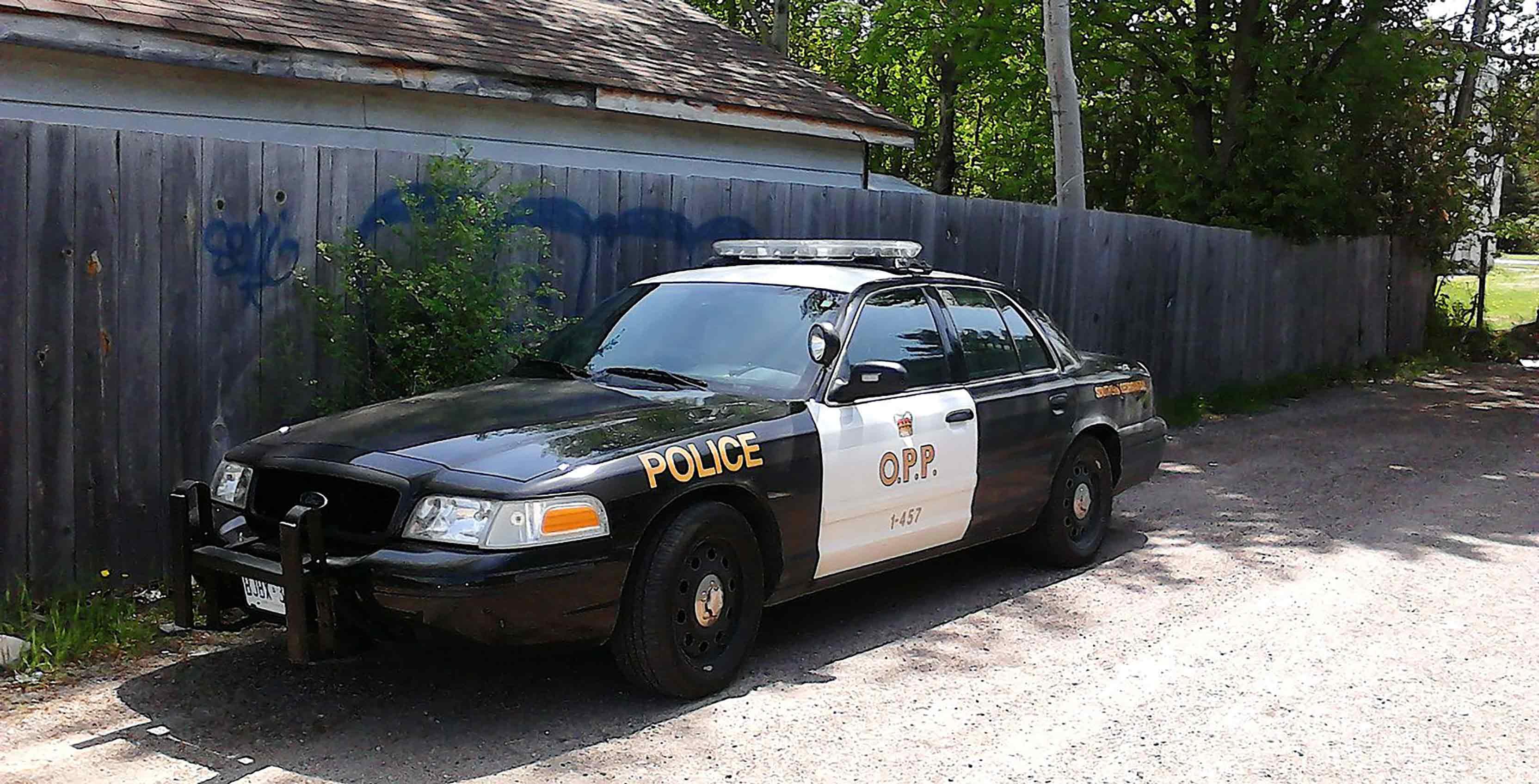 OPP cruiser parked