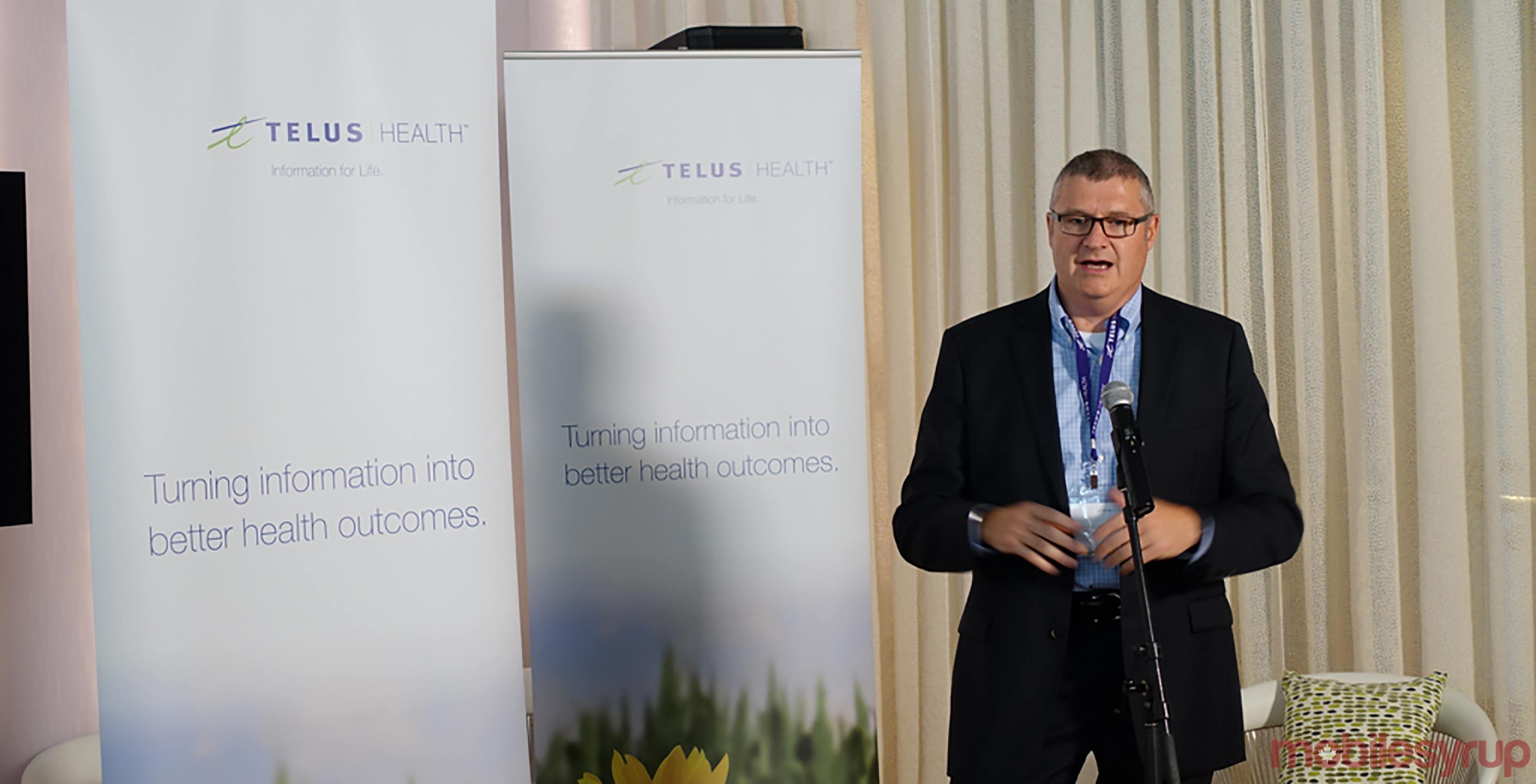 Paul Lepage, president of Telus Health
