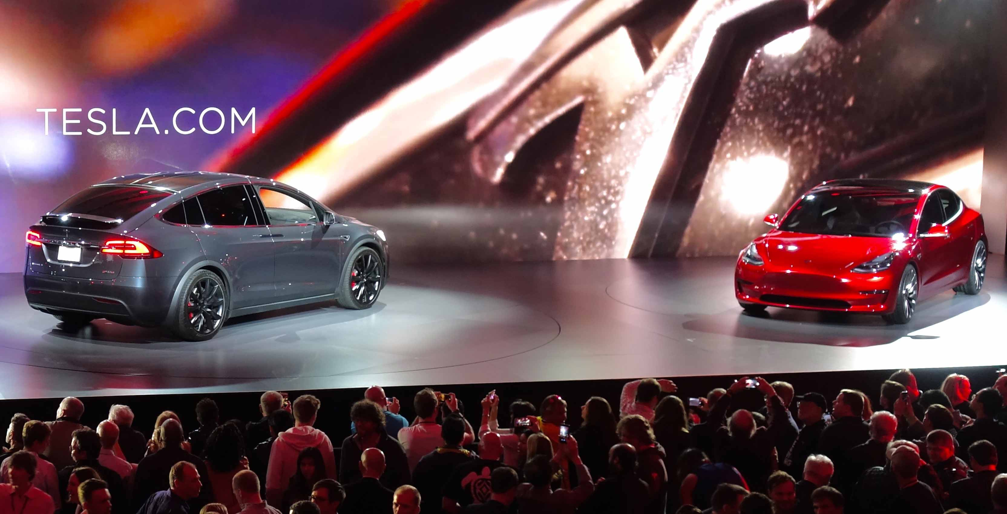 Tesla Model X and Model 2 unveiling