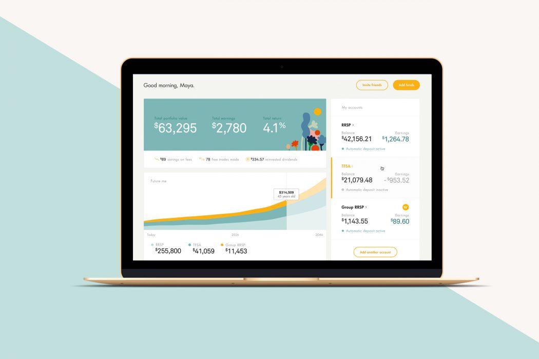 Wealthsimple website