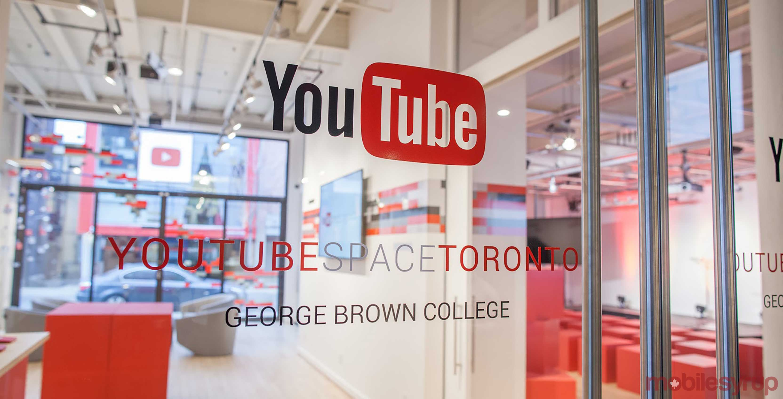 YouTube office Space in Toronto