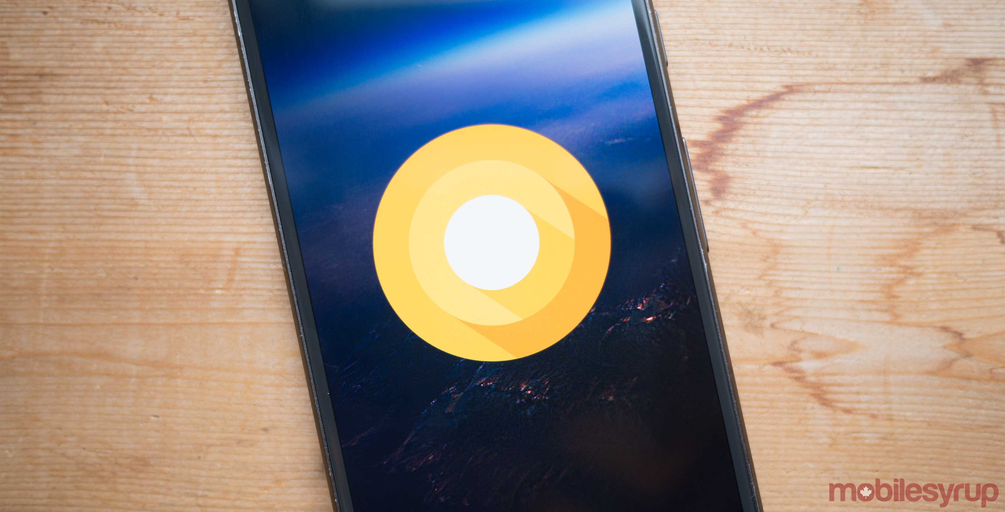 Android O on a Pixel device