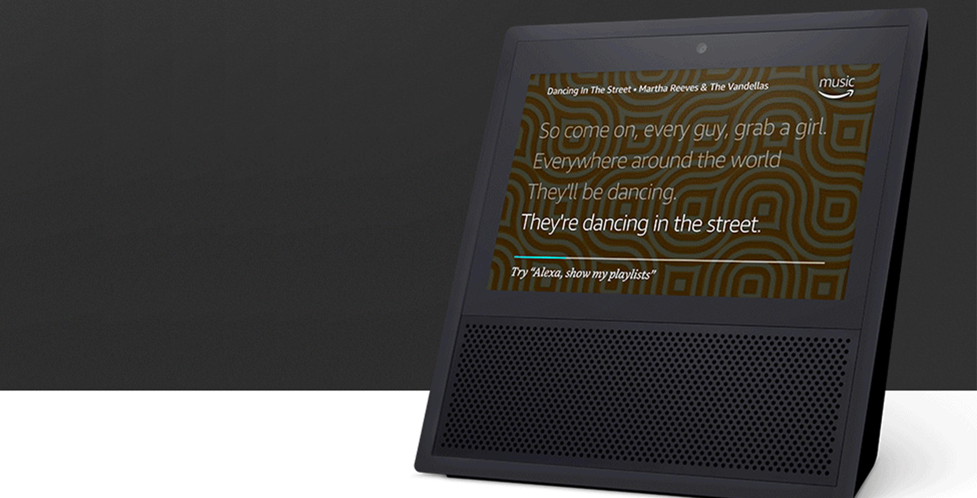 Amazon Announces Echo Show Voice Controlled Touchscreen Speaker