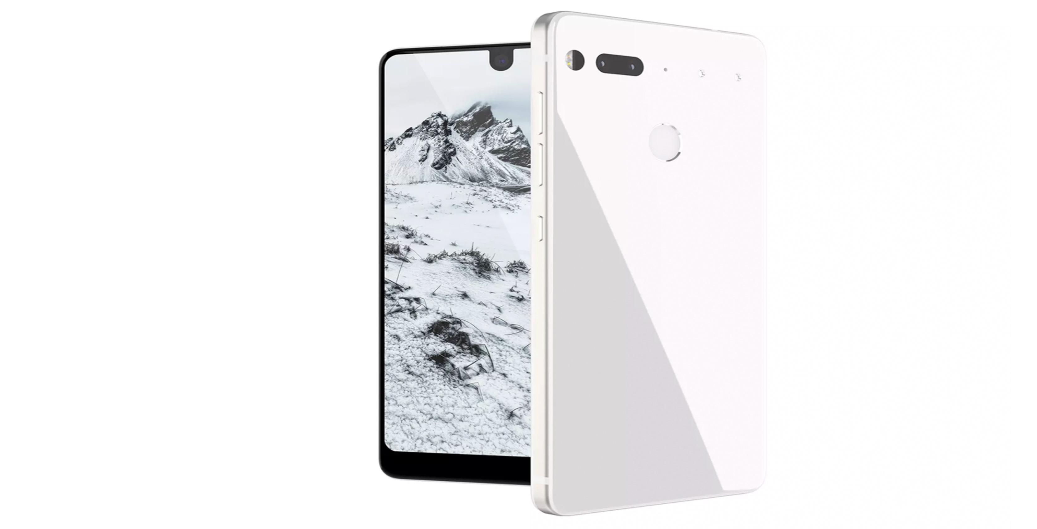 Render of Essential PH1 Phone