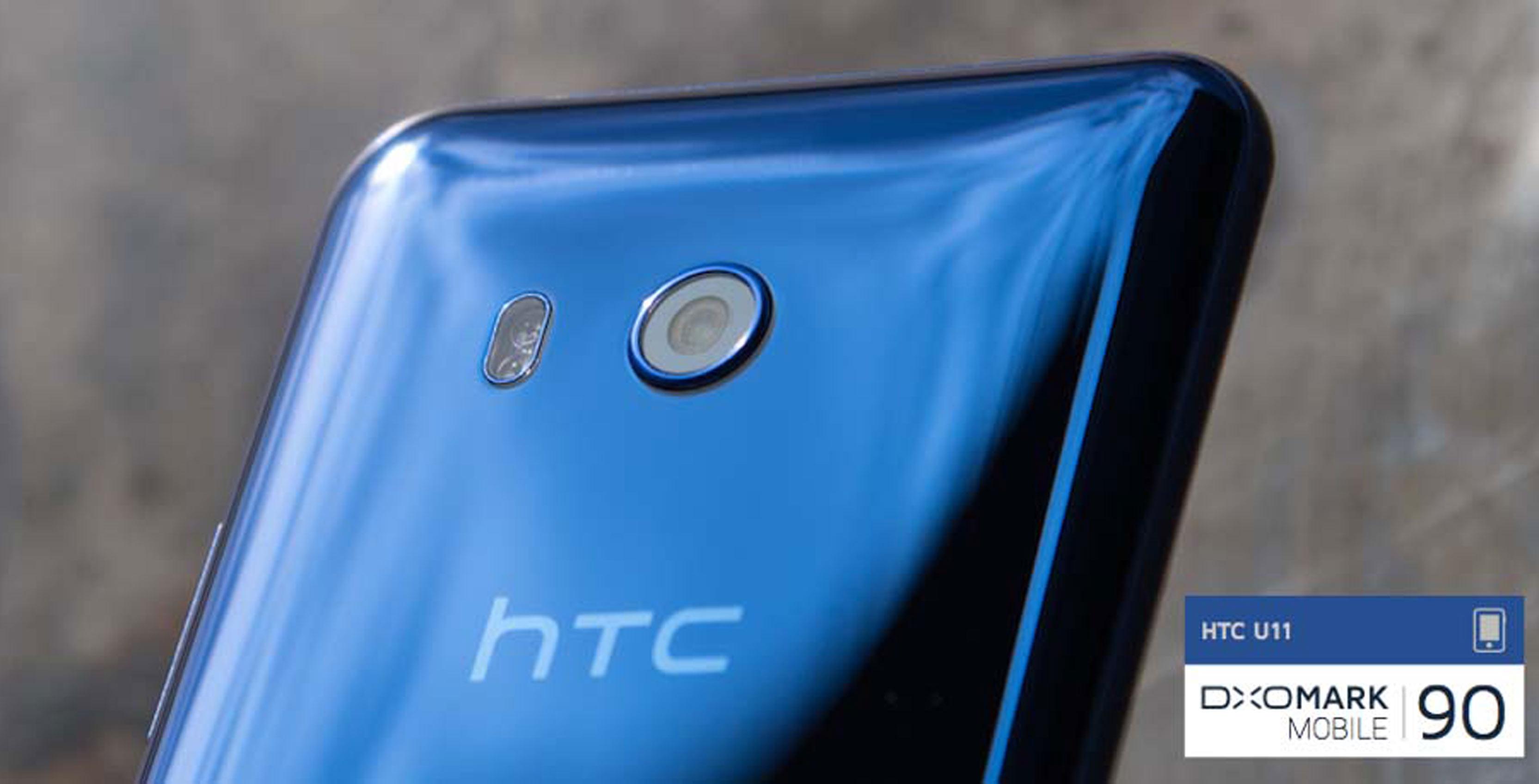 HTC U11 rear facing camera