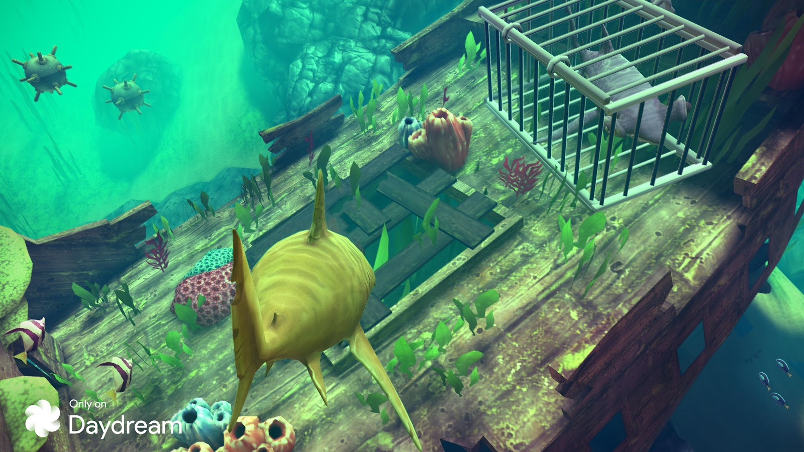 Ubisoft brings Hungry Shark VR to Google's Daydream