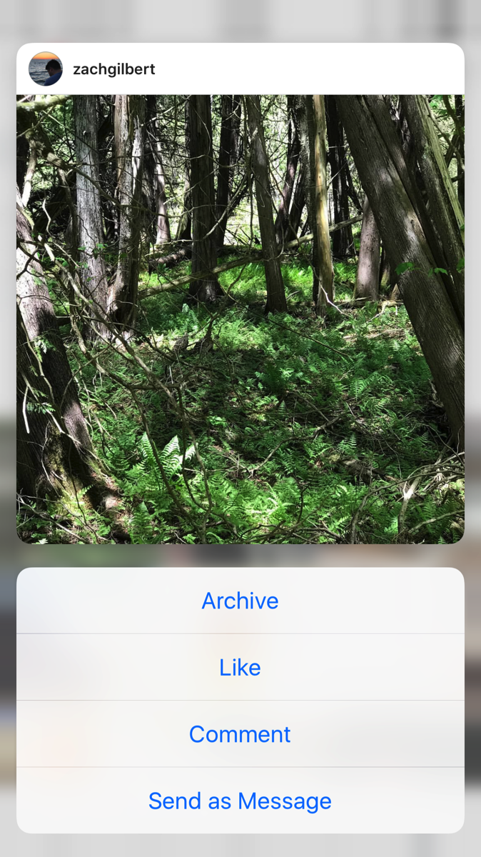 image of instagram on a phone