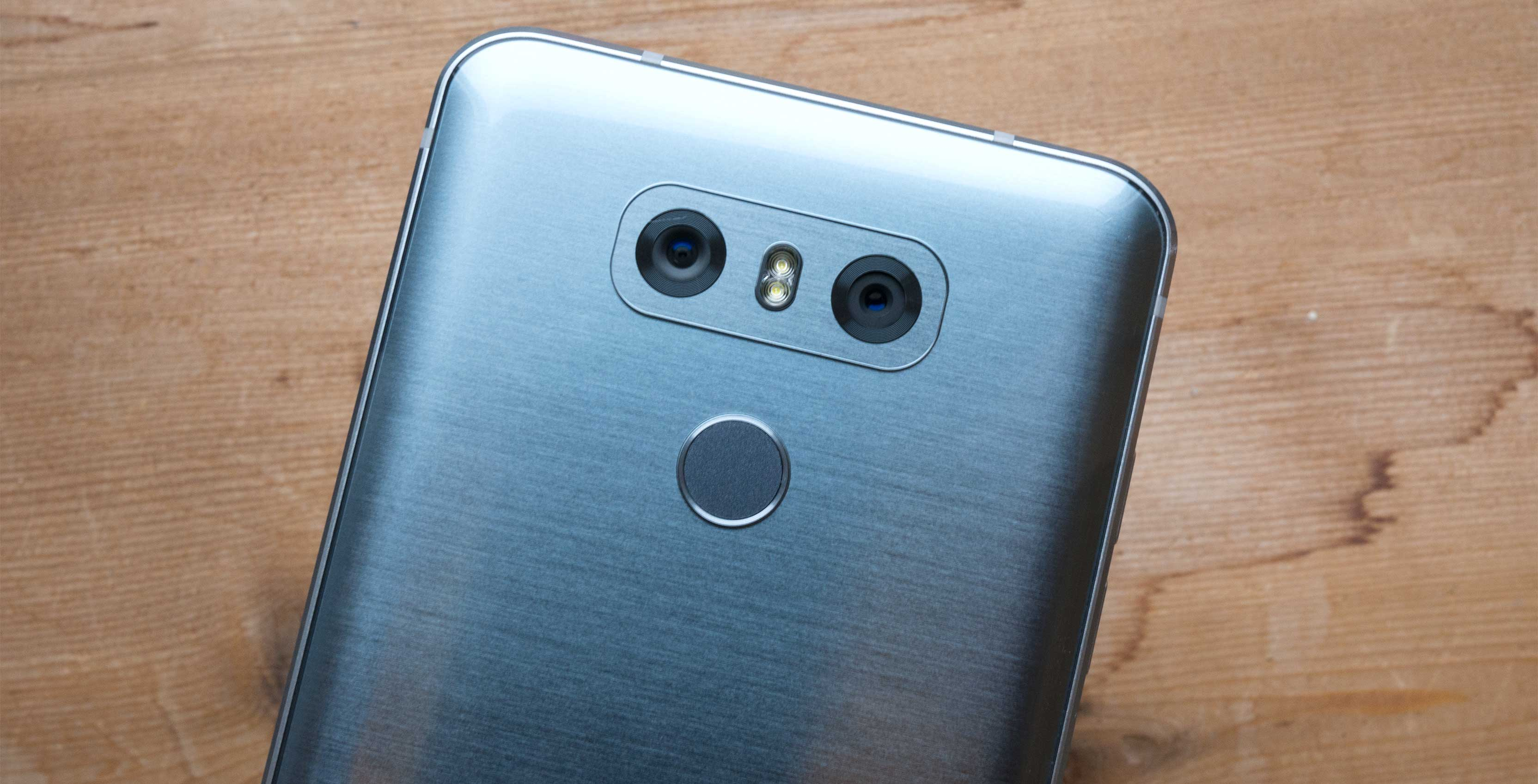 The LG G6 features one of the best smartphone cameras