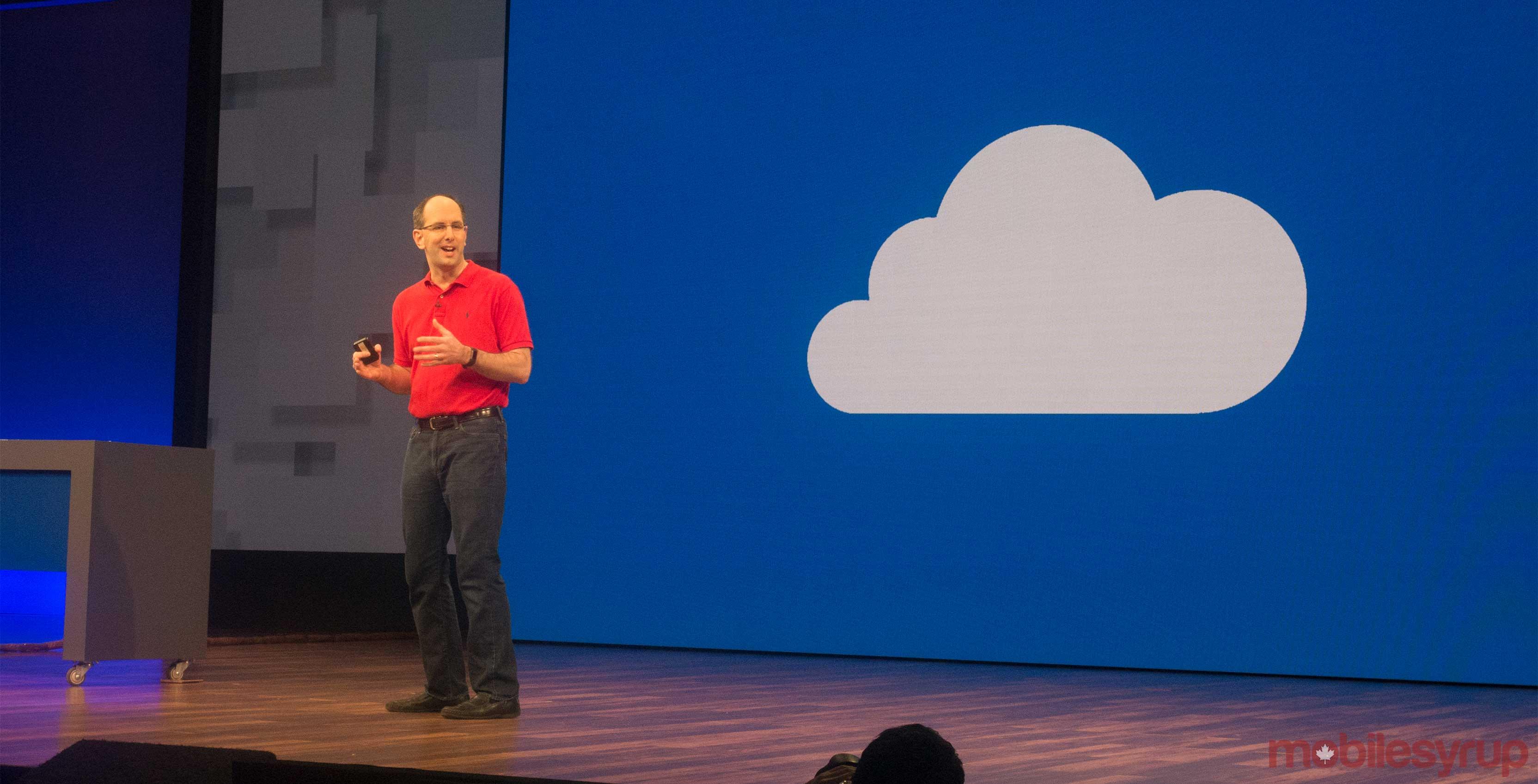 azure cloud build 2017 keynote