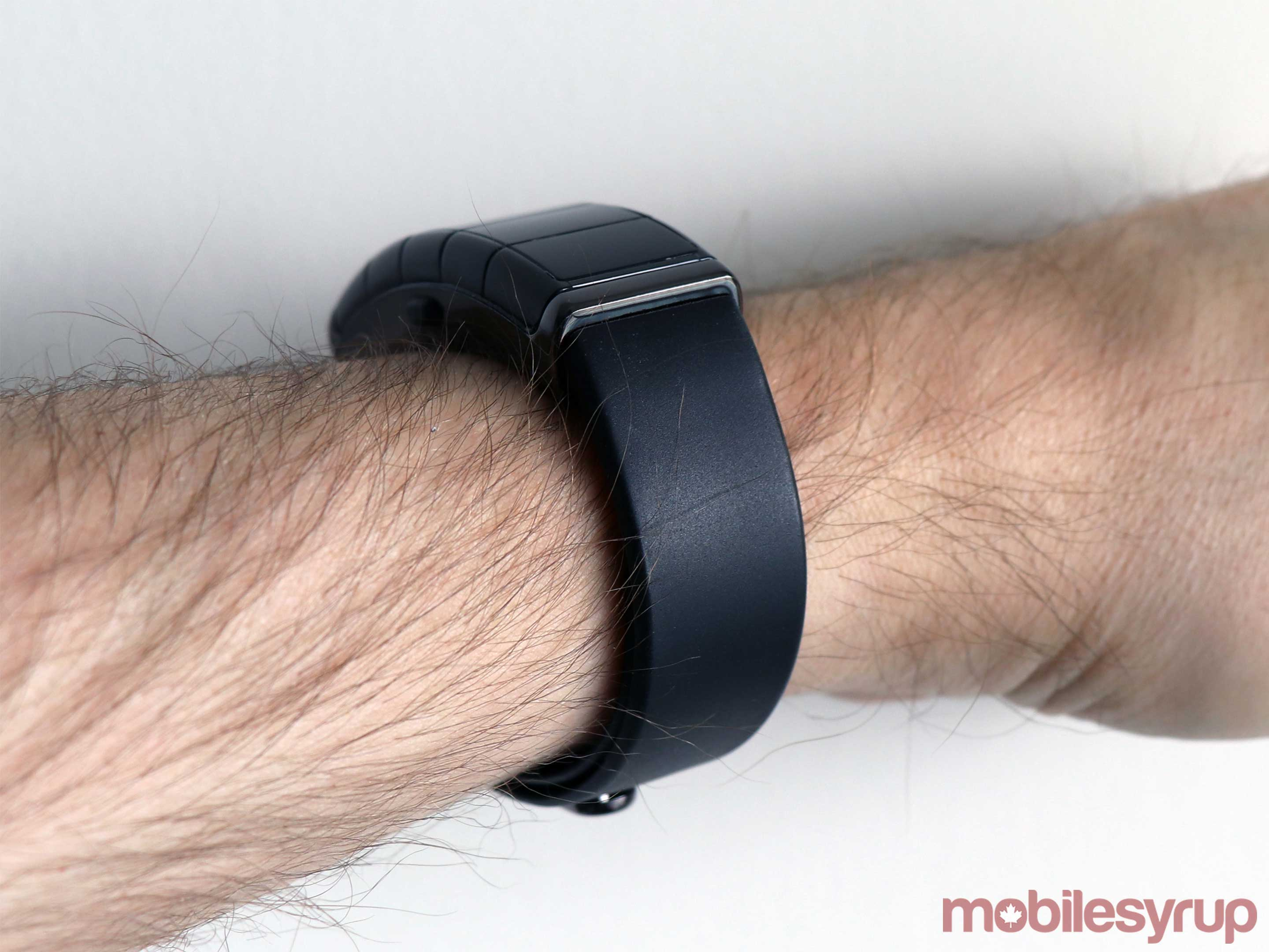 nex band evolution on wrist