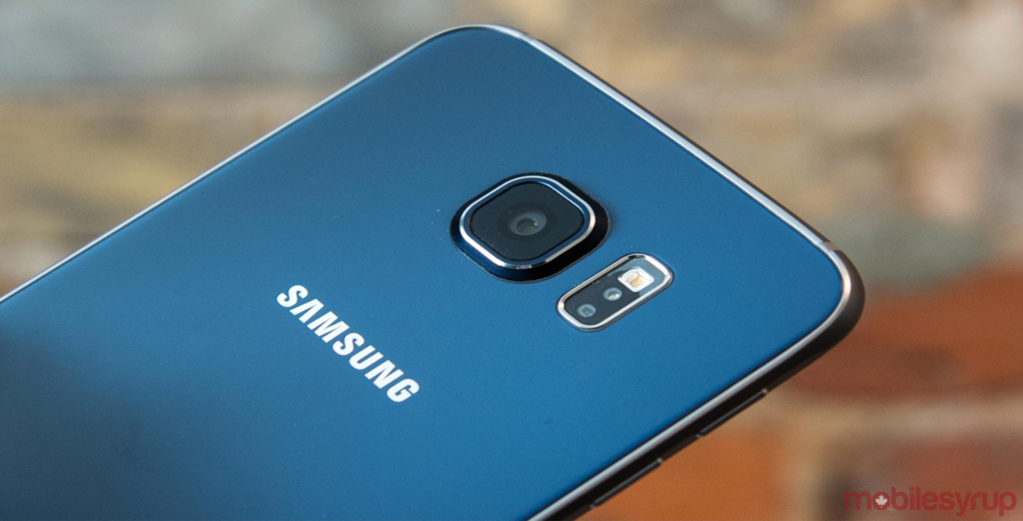 Telus Samsung Galaxy S6 rear