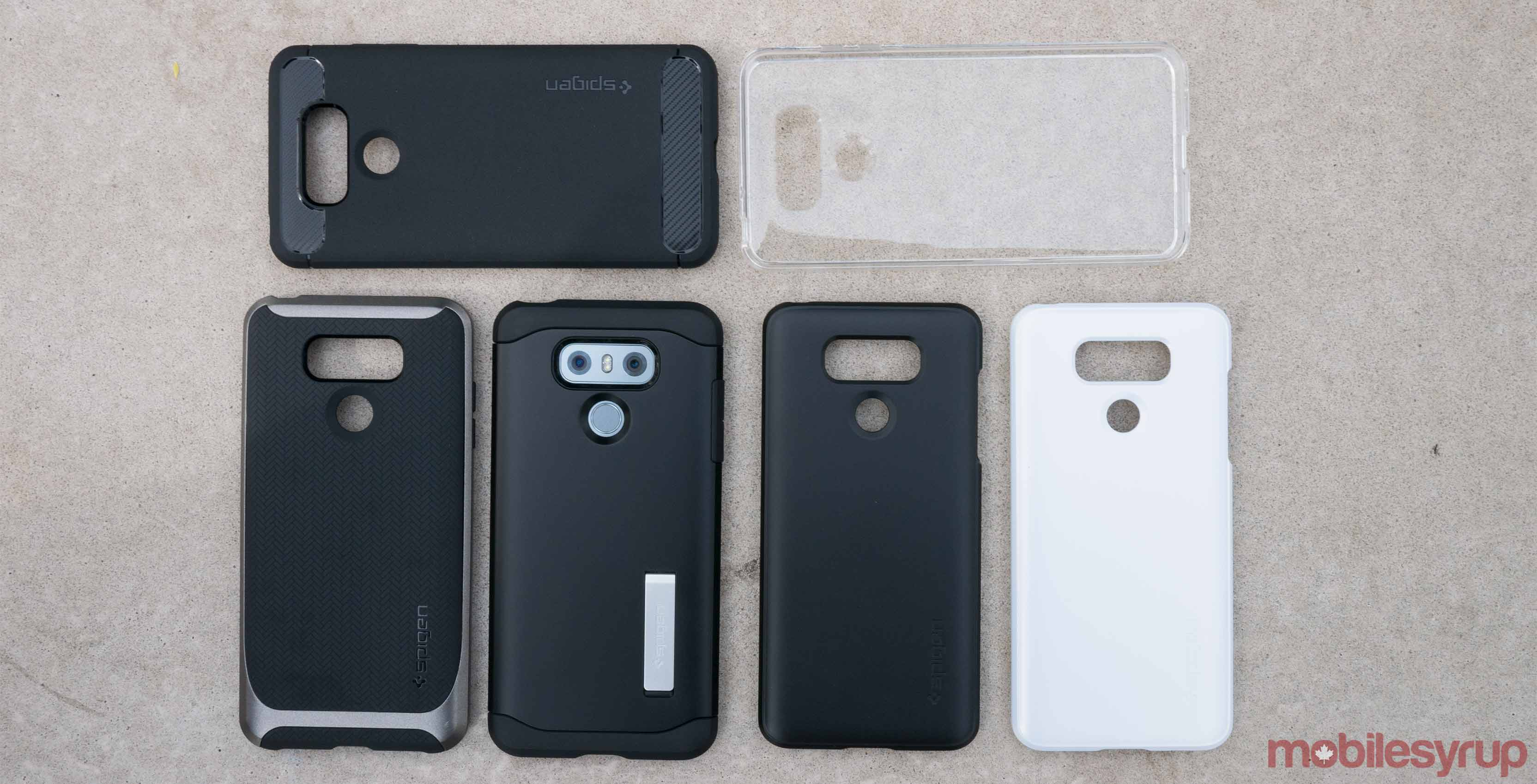 wholesale dealer 0662d 9a463 A look at Spigen's line of LG G6 cases